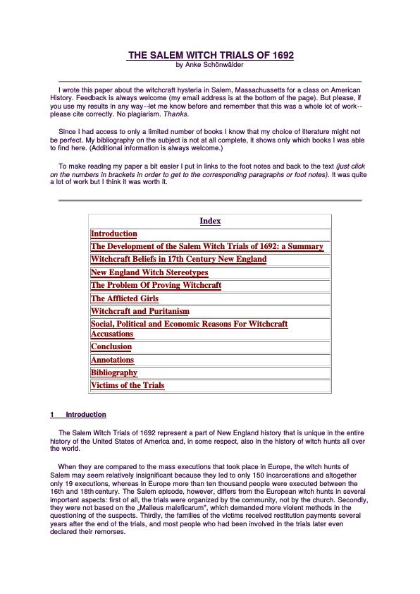 college essays college application essays m witch trials essay m witch trials research paper
