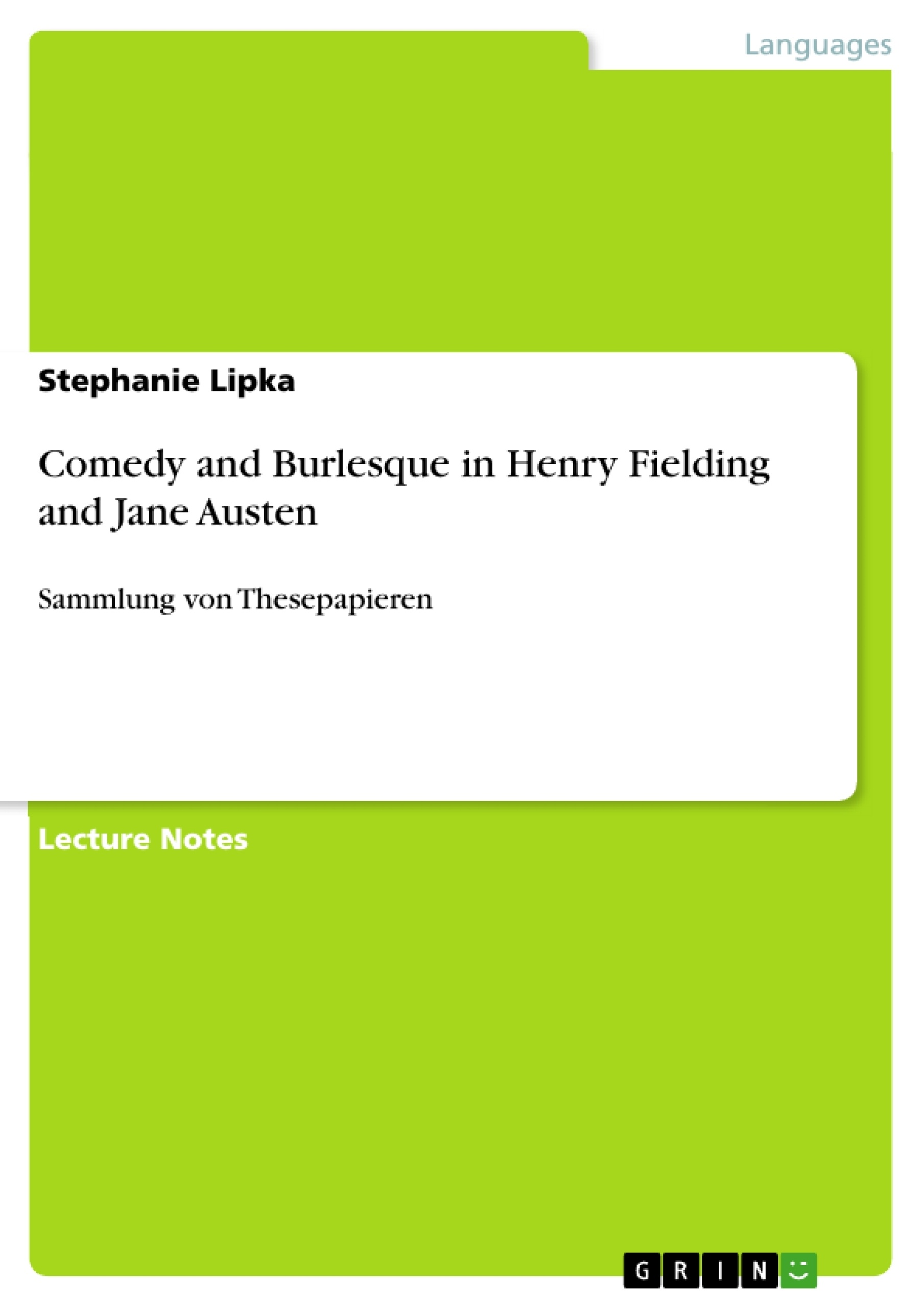 essay on jane austen's life
