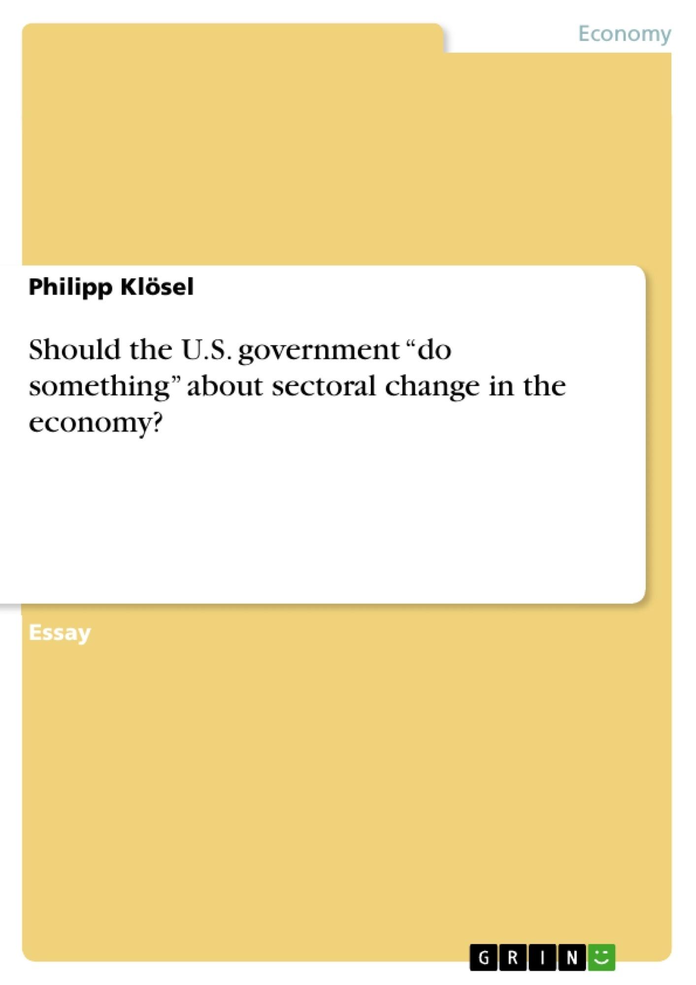 U s government essay