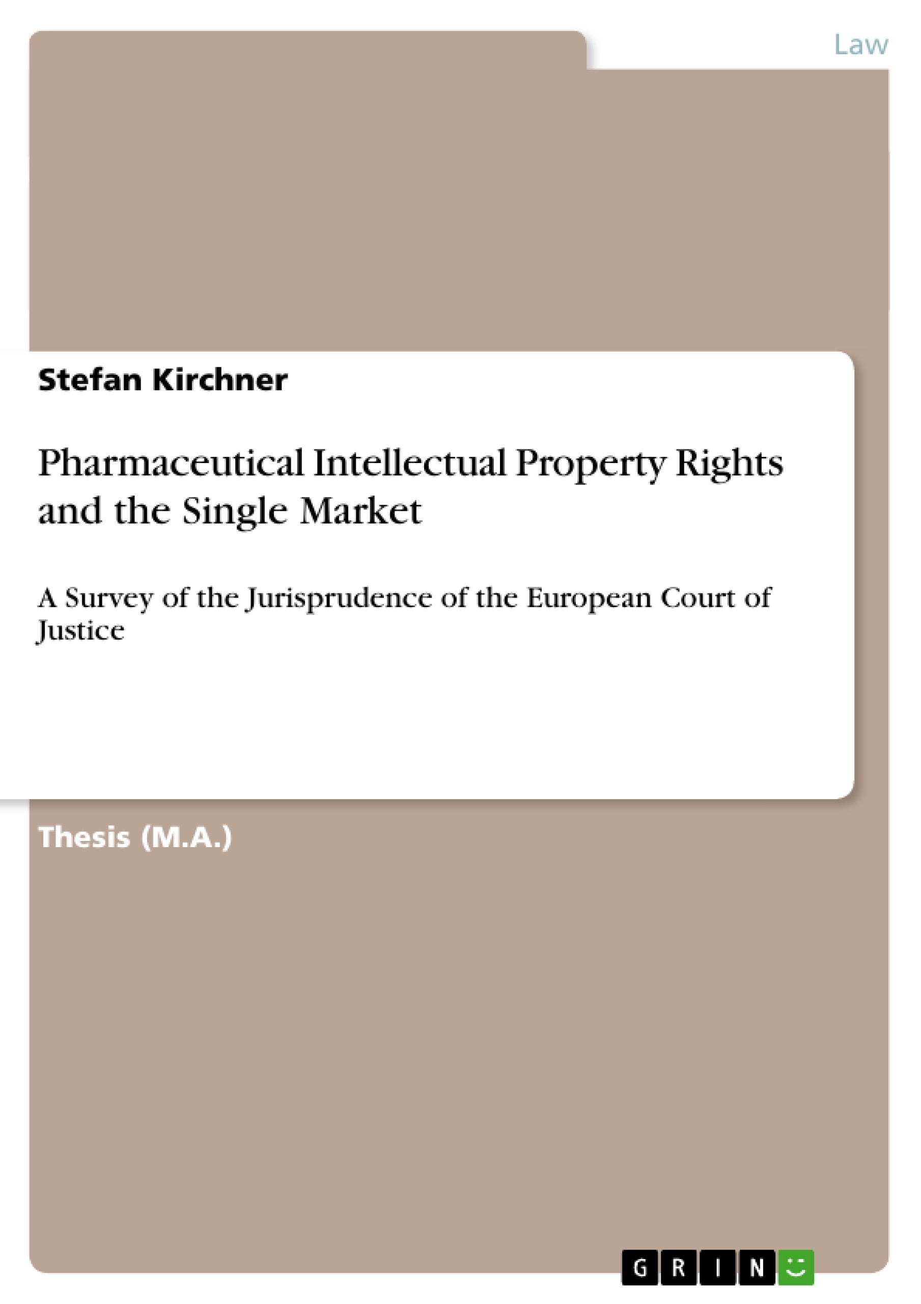 """master thesis intellectual property law Nina barzey, master thesis, european intellectual property law summary  this master thesis (the """"thesis"""") explores the realms of goodwill."""