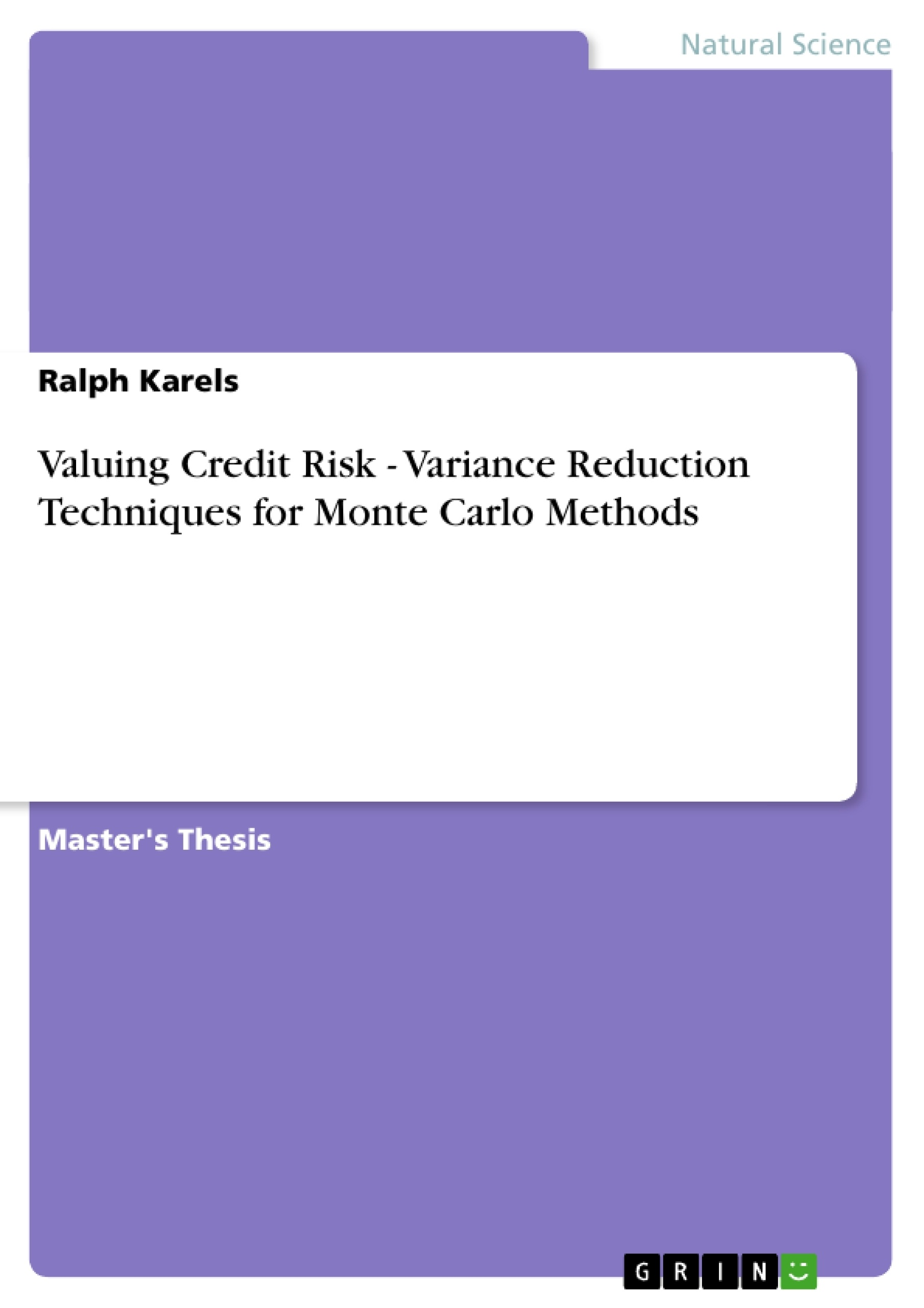 thesis on credit risk