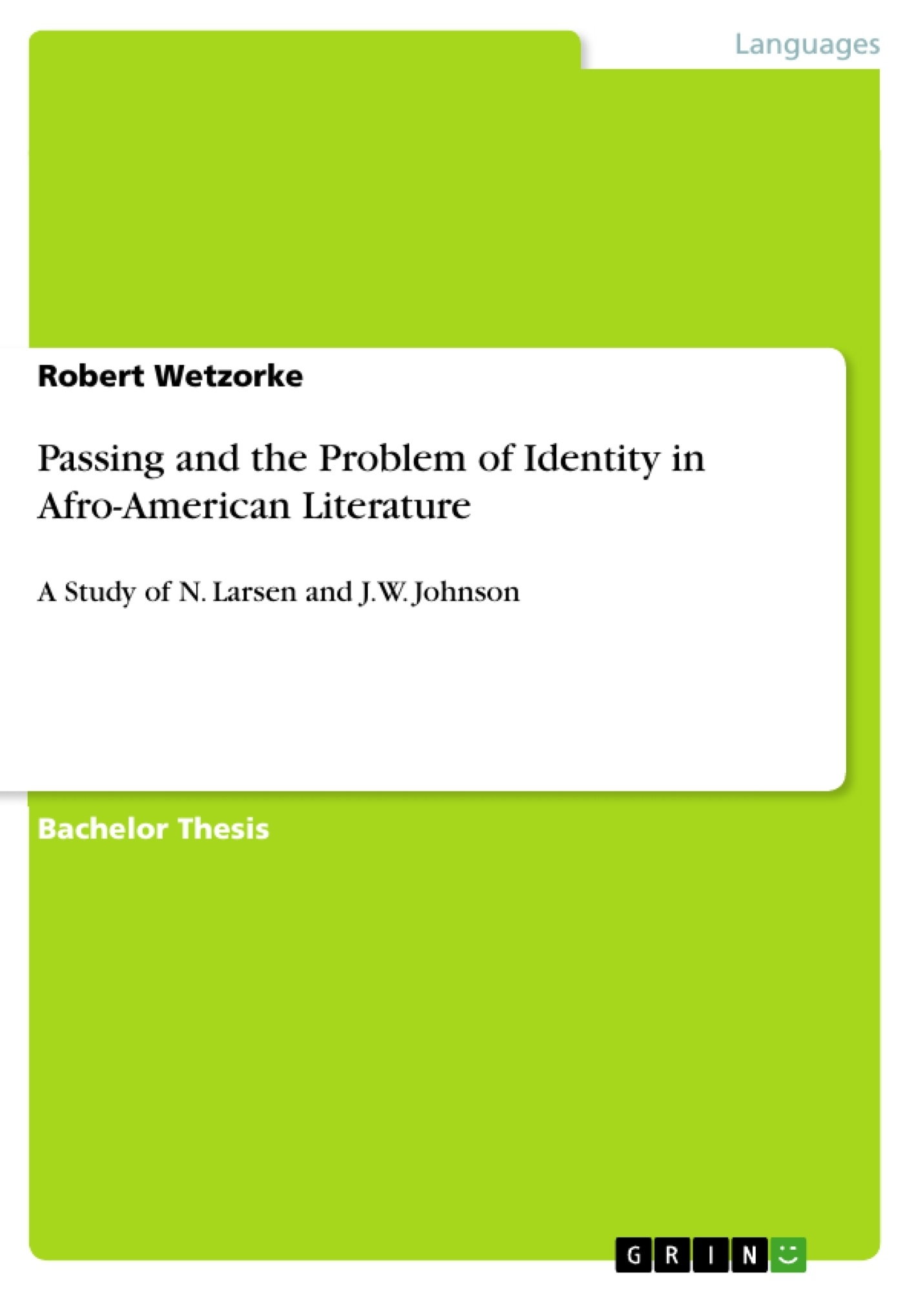 belonging thesis on identity