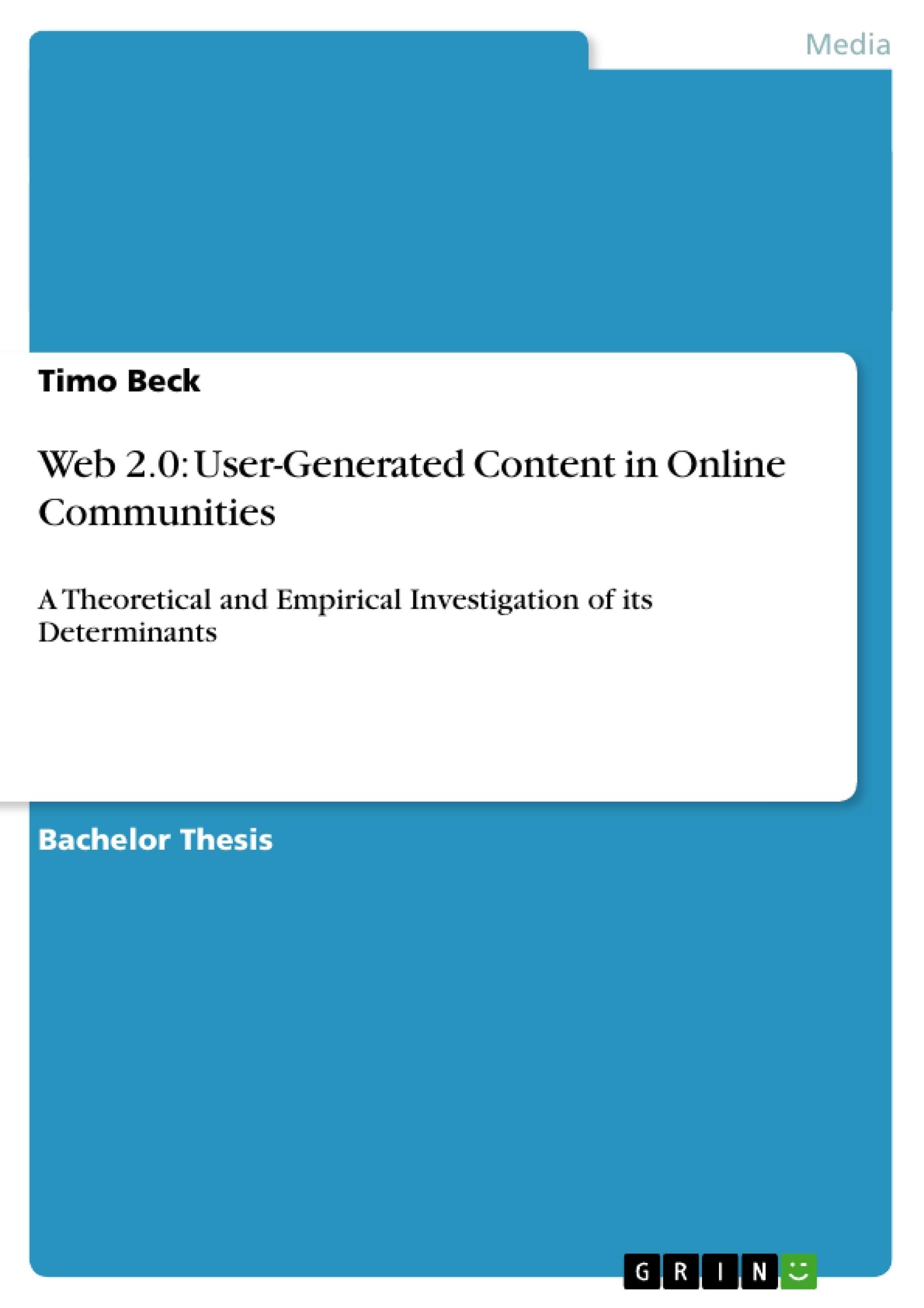 online communities essay