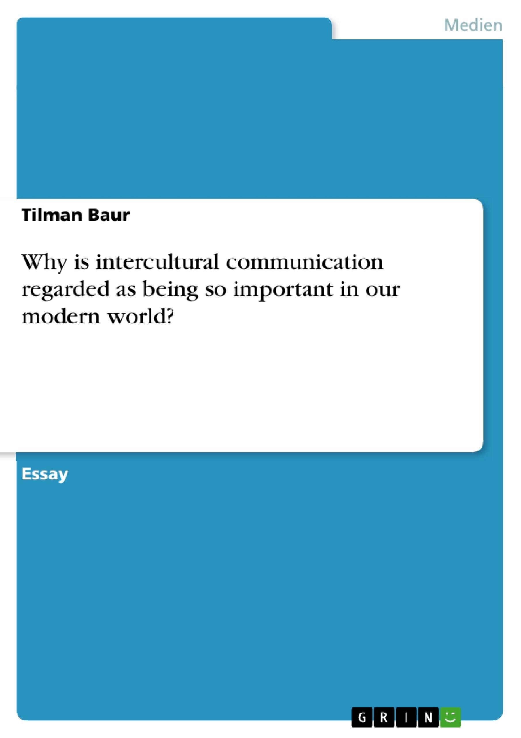 Case Study: Intercultural Communication Essay