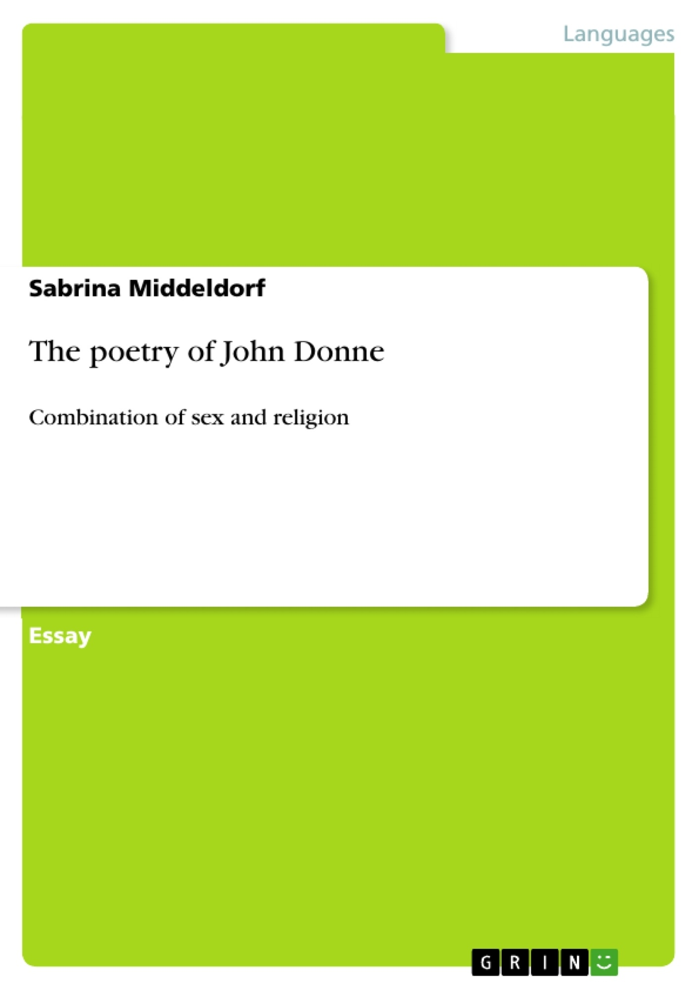 the poetry of john donne publish your master s thesis upload your own papers earn money and win an iphone 7