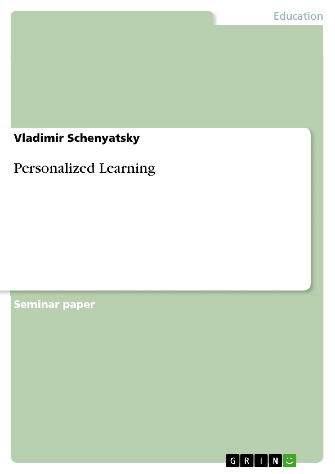 bachelor thesis e-learning