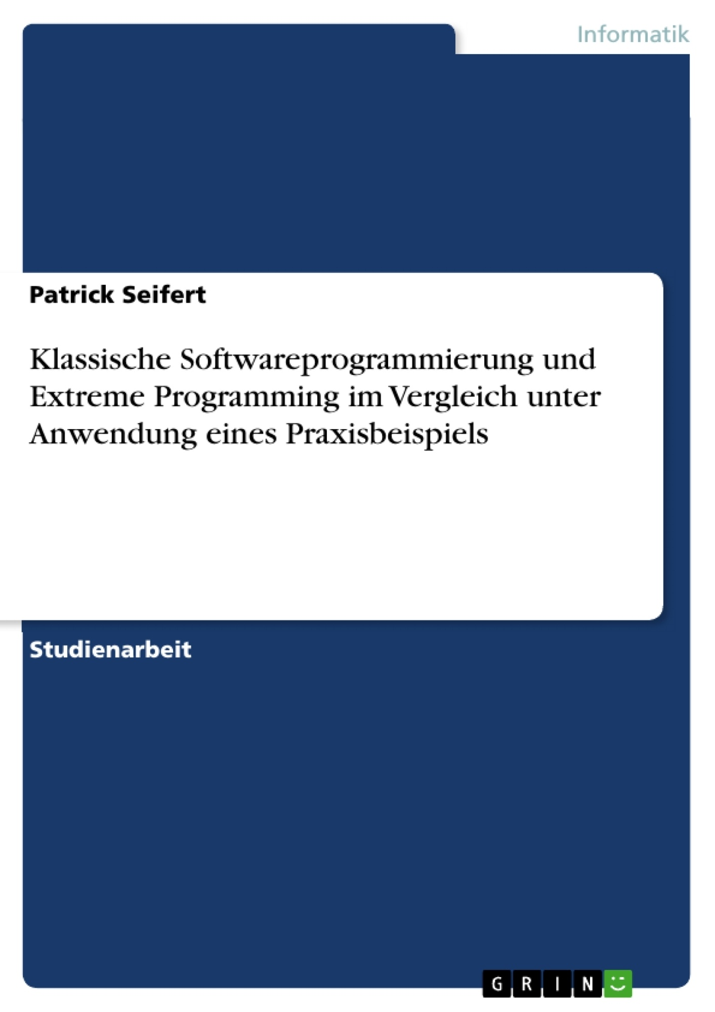 "essay on extreme programming Praise for extreme programming explained, second edition ""in this second edition of extreme programming explained,kent beck orga- nizes and presents five years' worth of experiences, growth, and change revolv."