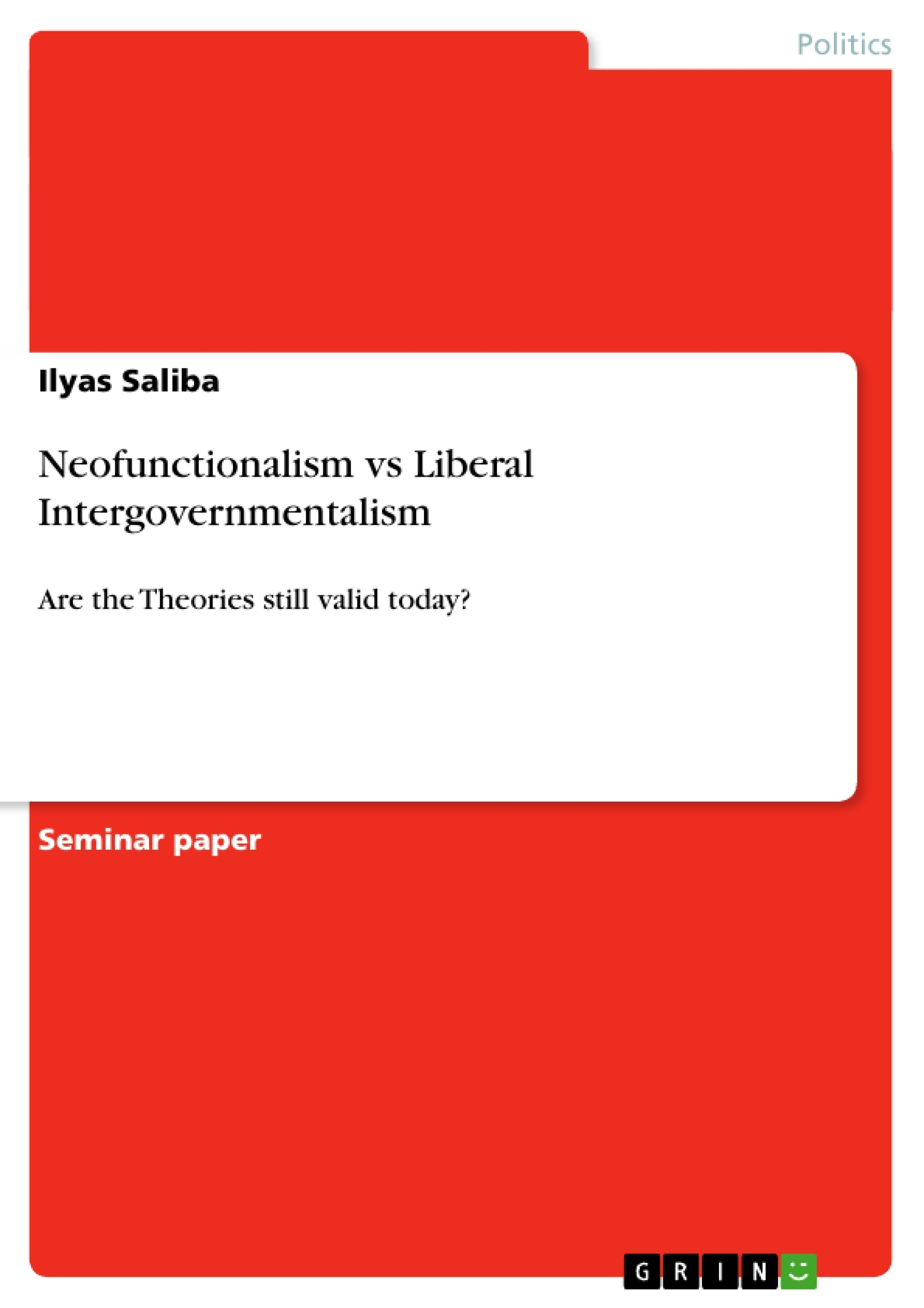 liberal intergovernmentalism European integration is andrew moravcsik's 'liberal intergovernmentalism' (li), as laid out in a series of articles during the first half of the 1990s (moravcsik, 1991, 1993, 1994, 1995.