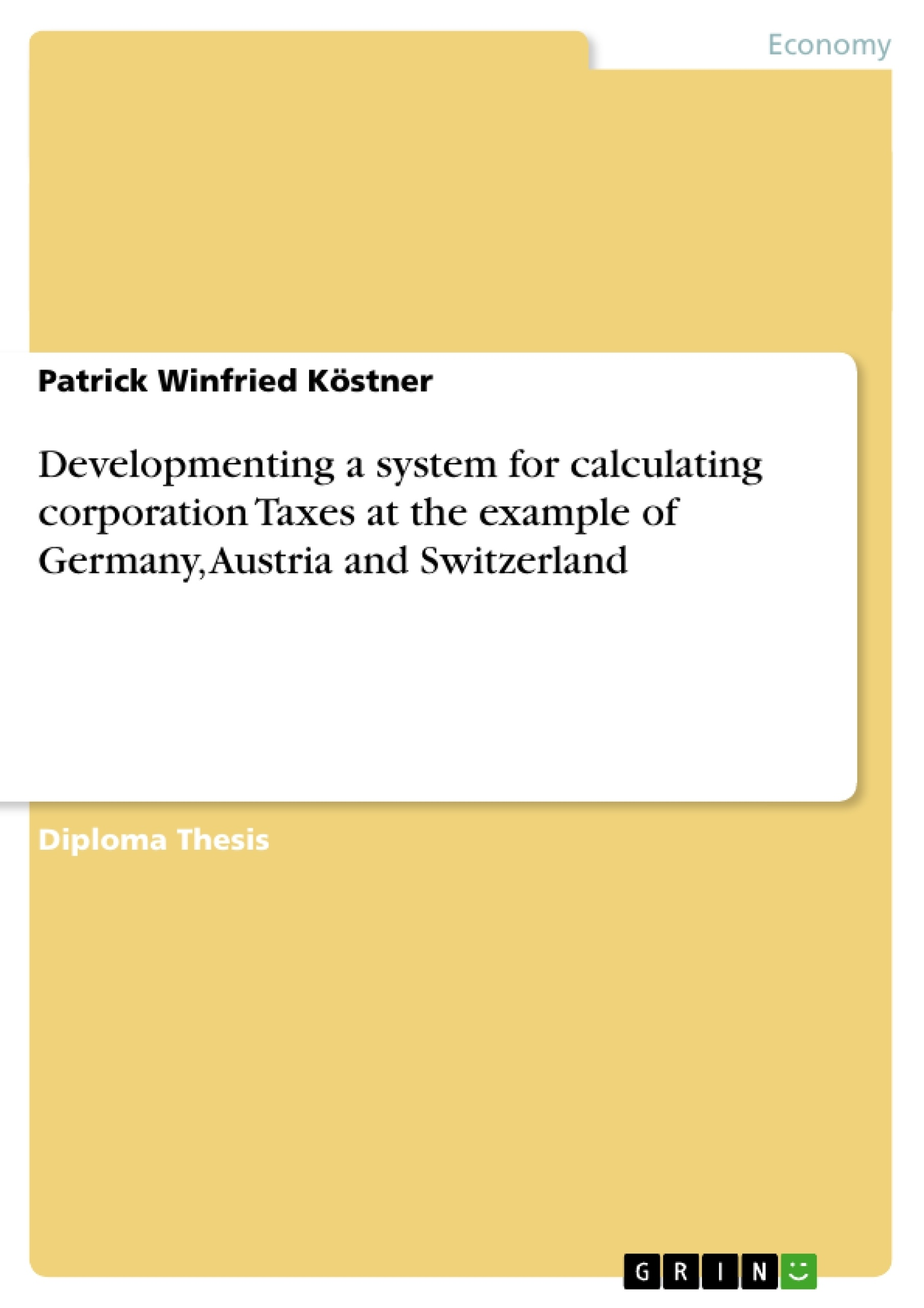 Term papers on corporation