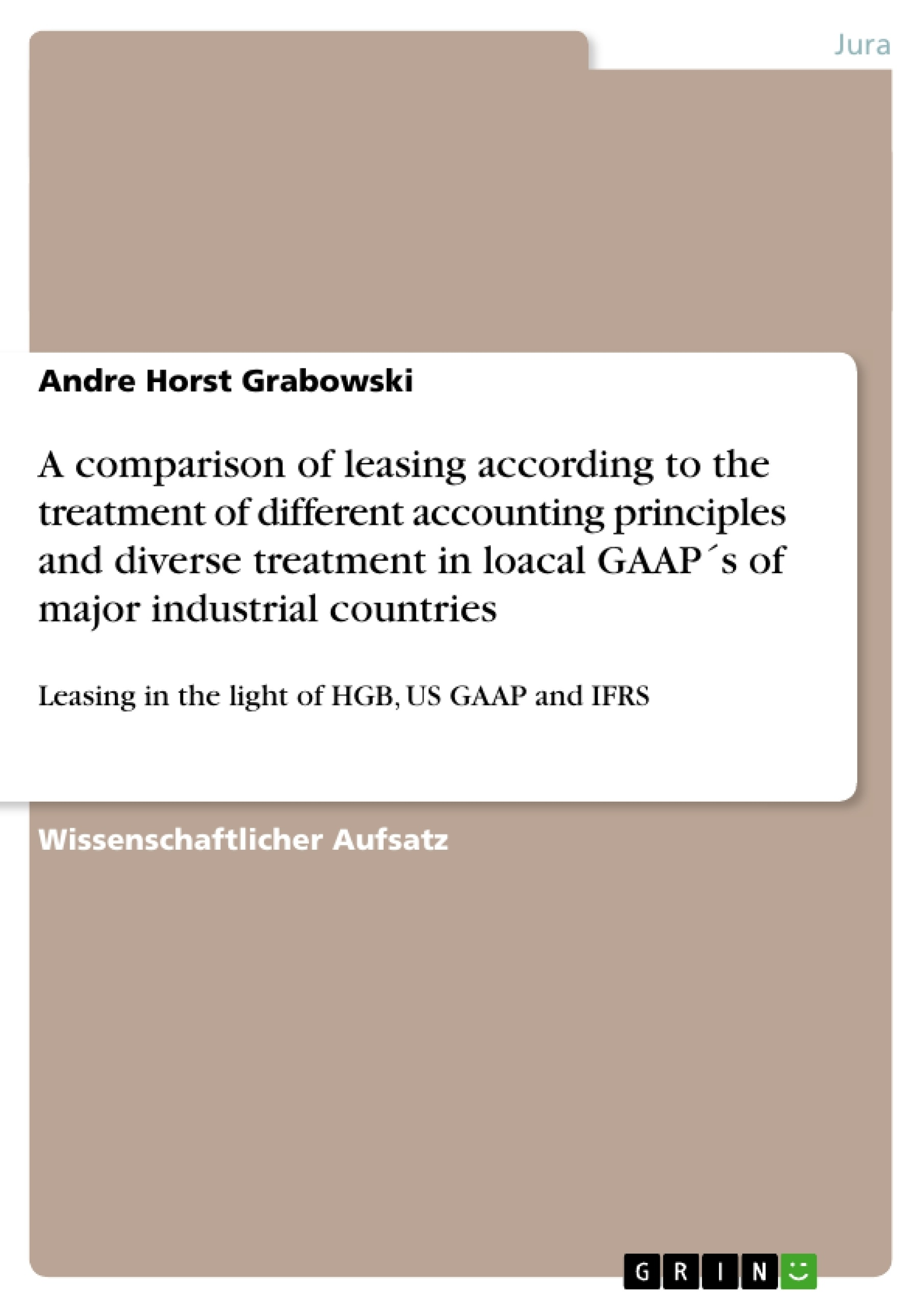 a comparison between us gaap and german hgb What are some of the key differences between ifrs and us or infrequent items listed on an income statement prepared according to either us gaap or ifrs.
