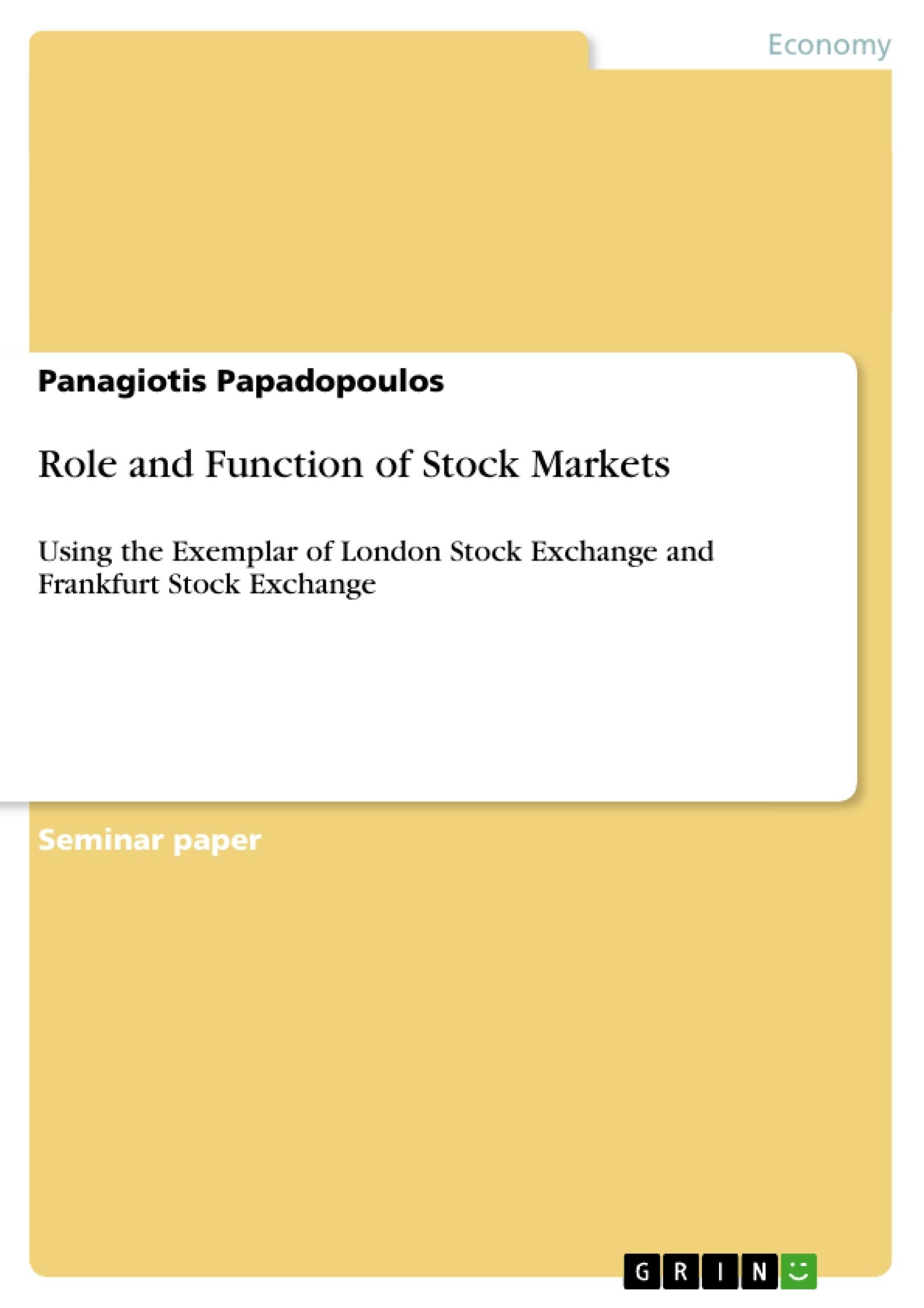 n stock market essay  n stock market essay