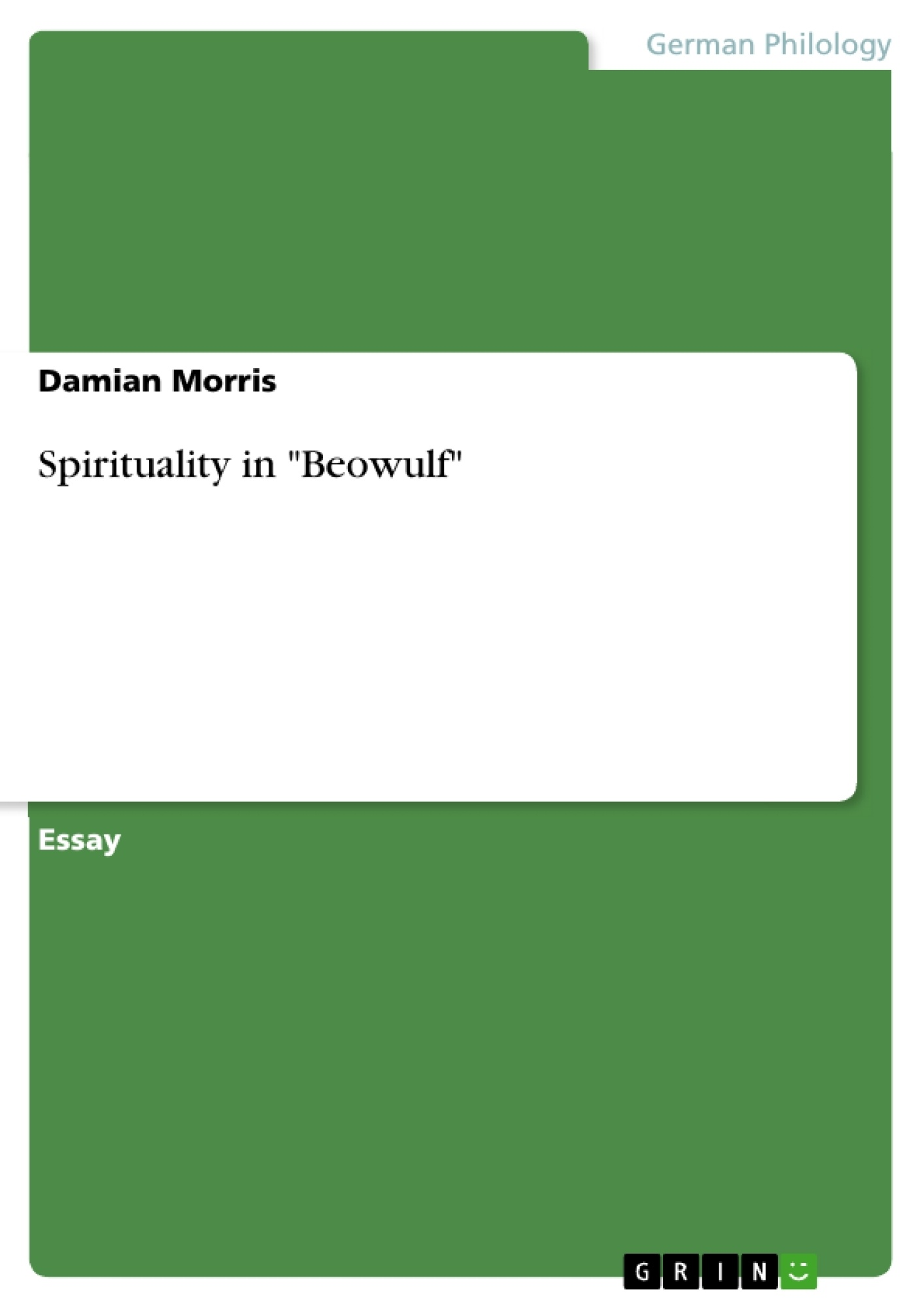 spirituality in beowulf publish your master s thesis spirituality in beowulf publish your master s thesis bachelor s thesis essay or term paper