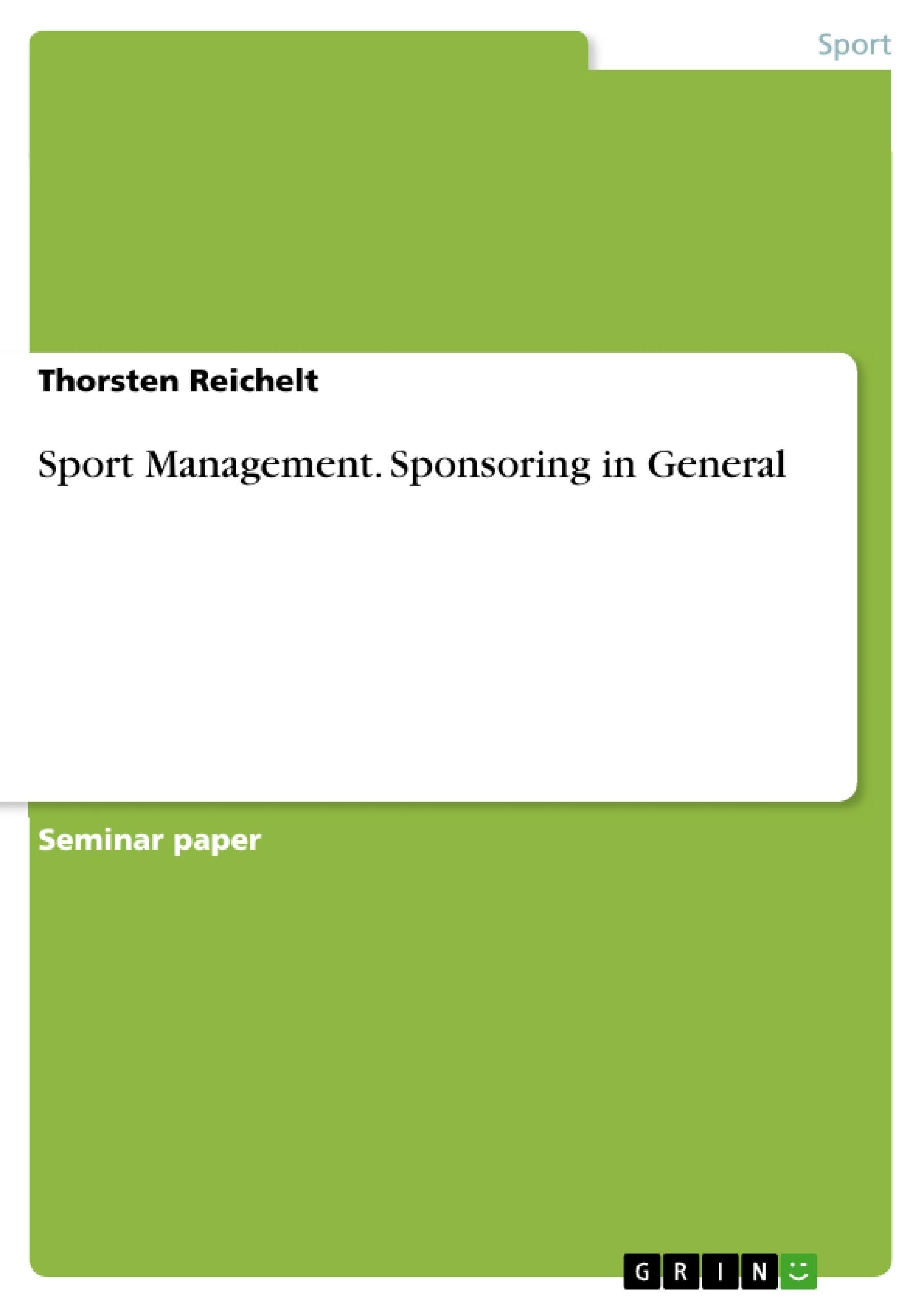 Sport management dissertation