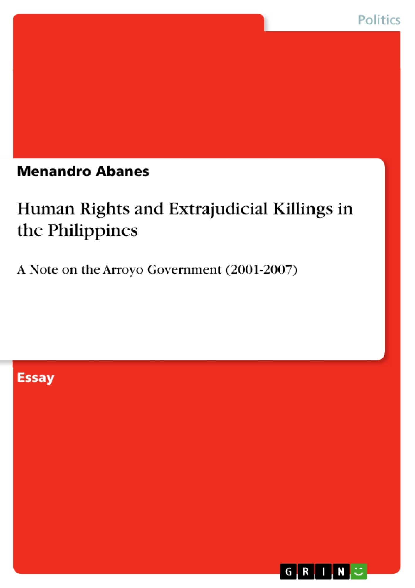 human rights and extrajudicial killings in the human rights and extrajudicial killings in the publish your master s thesis bachelor s thesis essay or term paper