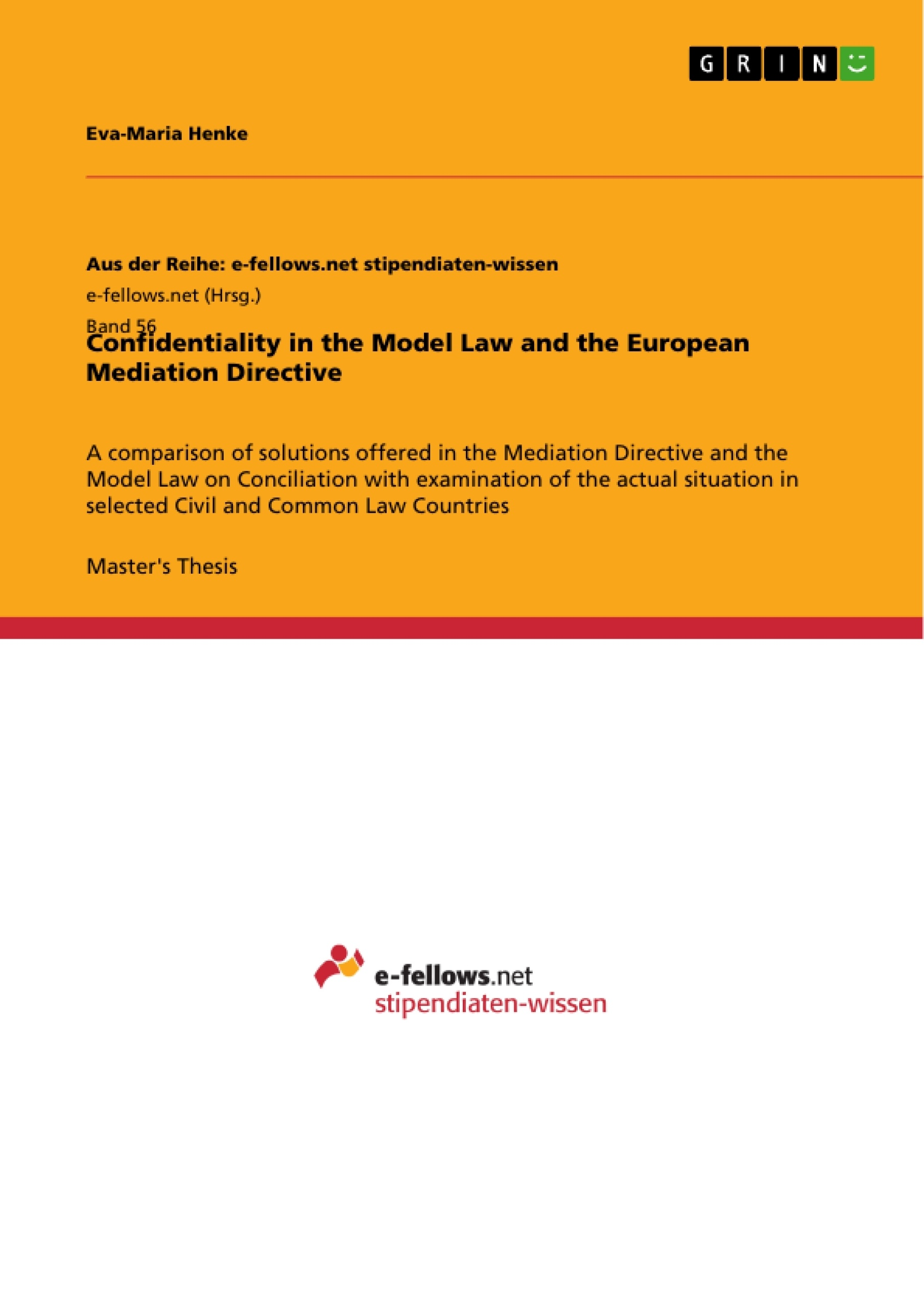 Thesis on mediation