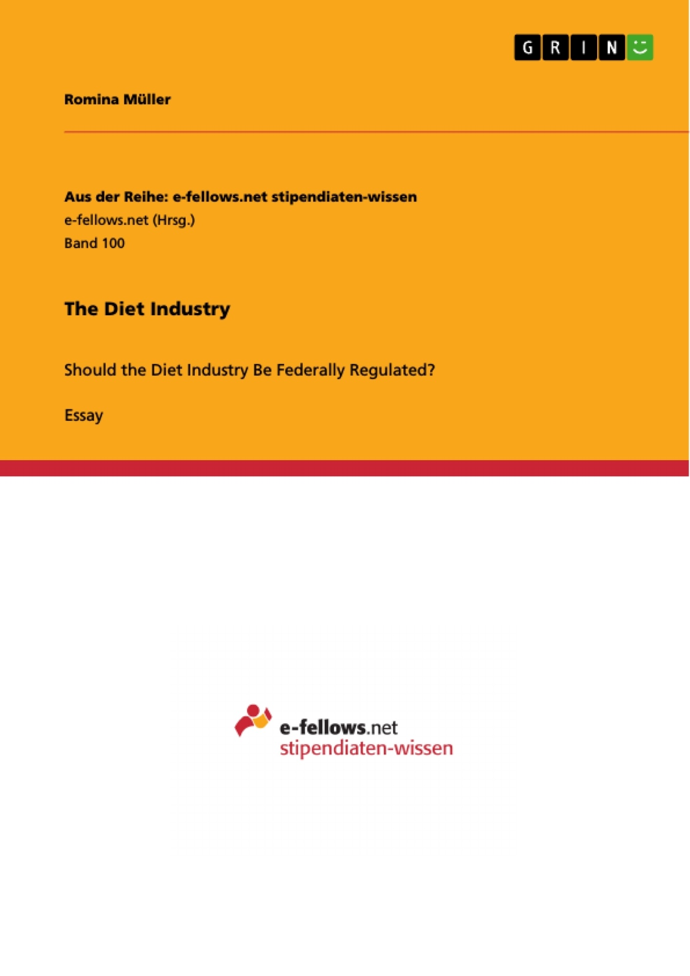 diet essay the diet industry publish your master s thesis bachelor  the diet industry publish your master s thesis bachelor s upload your own papers earn money