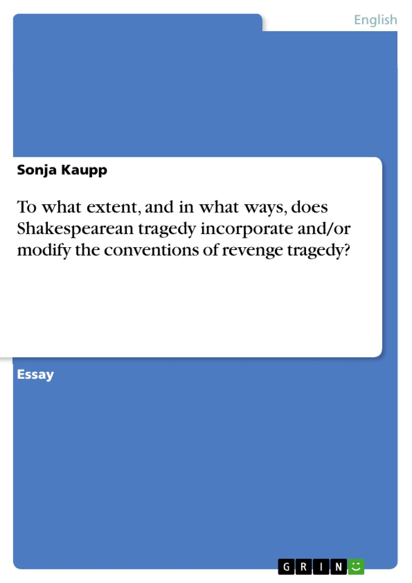 20 Great Ideas for Term Paper Topics on Shakespeare
