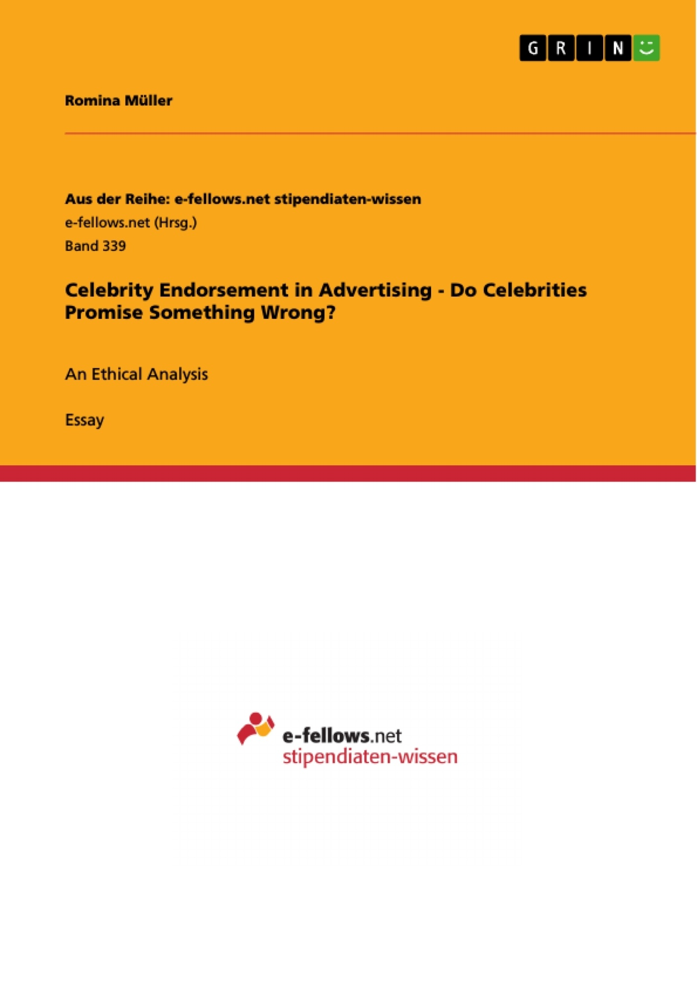 celebrity endorsement in advertising do celebrities promise celebrity endorsement in advertising do celebrities promise publish your master s thesis bachelor s thesis essay or term paper
