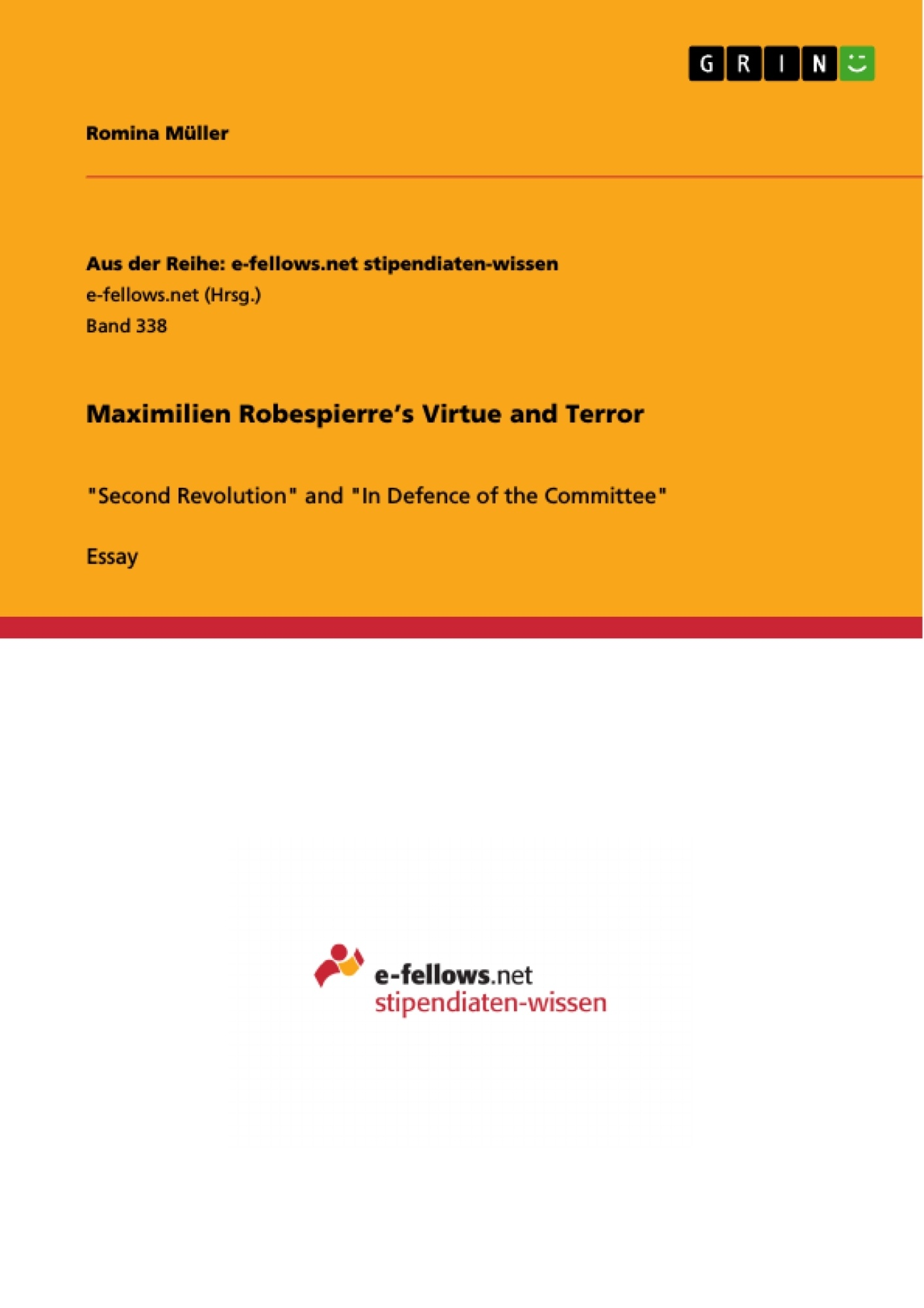 maximilien robespierre s virtue and terror publish your master s maximilien robespierre s virtue and terror publish your master s thesis bachelor s thesis essay or term paper