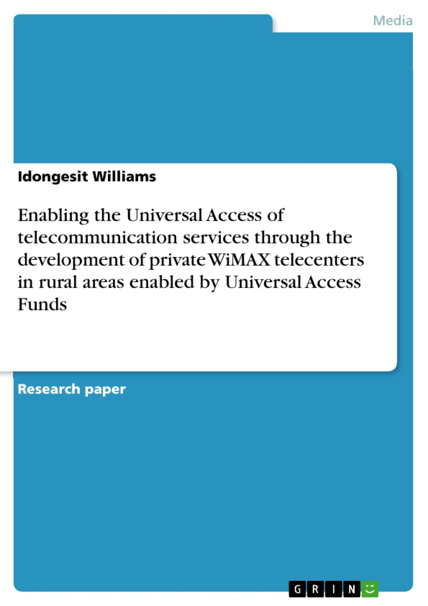 bachelor thesis telecommunication
