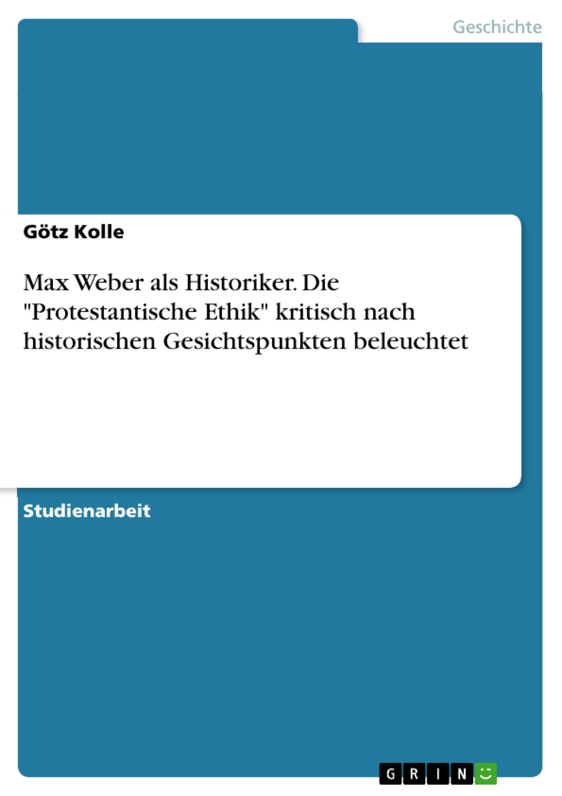 max weber referat Max weber arata in lucrarea etica protestanta si spiritul capitalist ca  protestantismul a avut un rol fundamental in schimbarea atitudinii fata de afaceri  si.