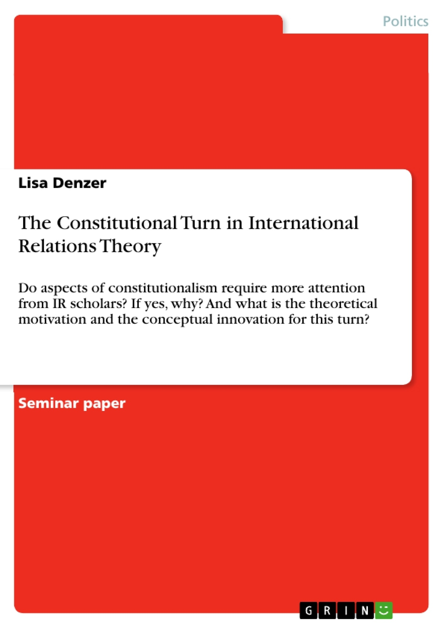 essay on international relations theories Denied: philosophy and international relations essay school the passion i feel for both international politics and philosophy must be fulfilled extracurricularly, usually through personal reading.