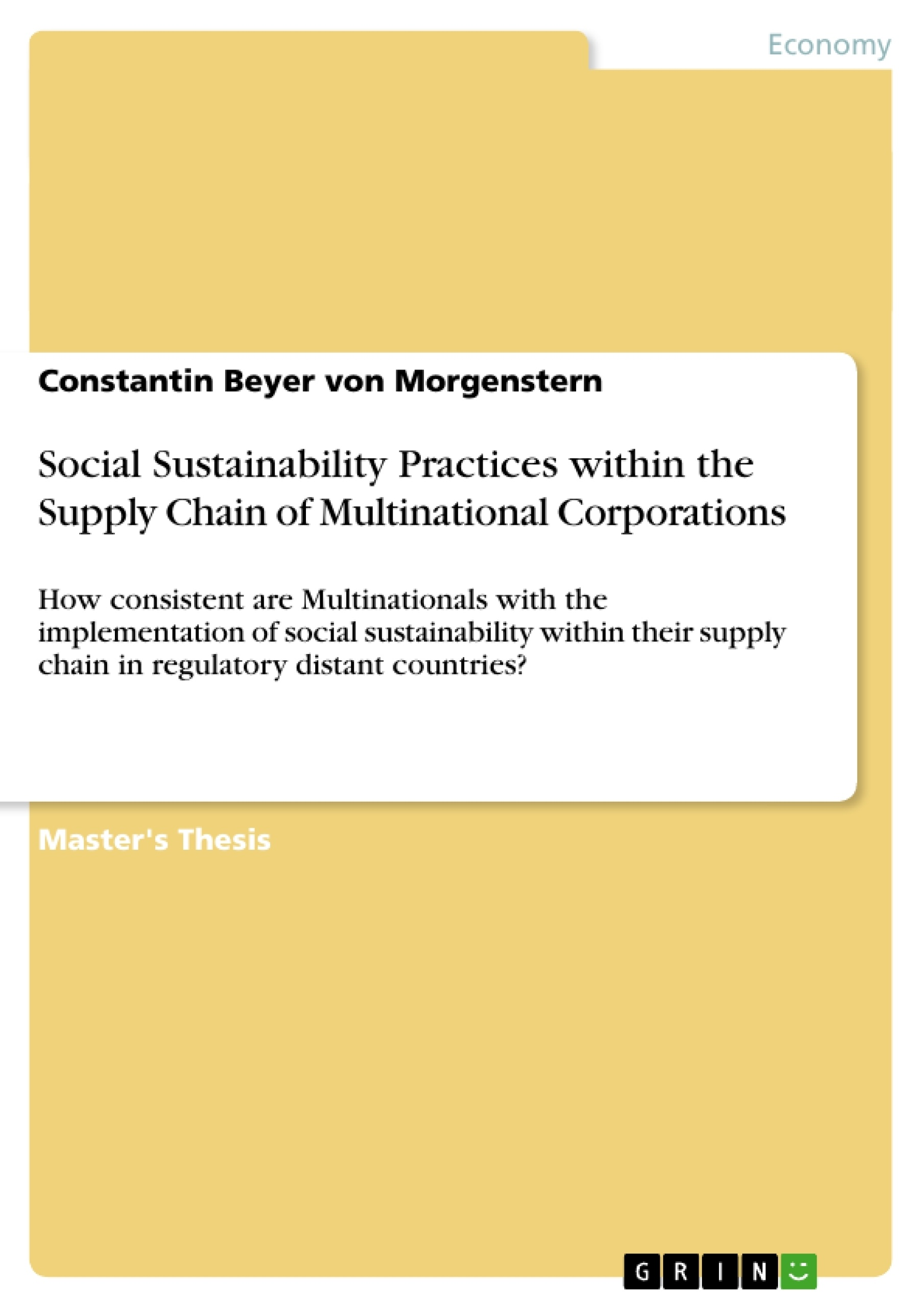 Education master thesis topics in supply chain