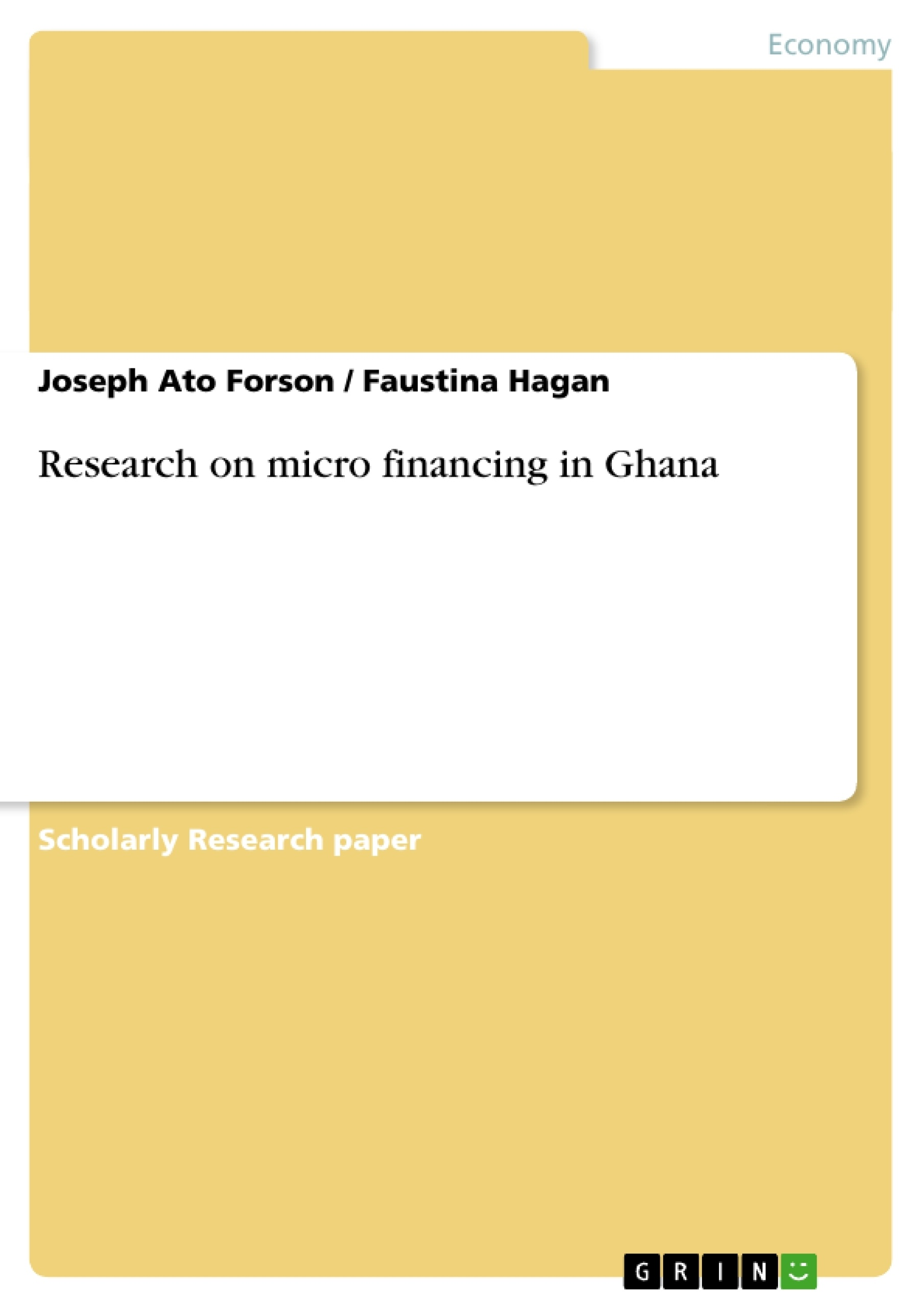 Research paper on ghana