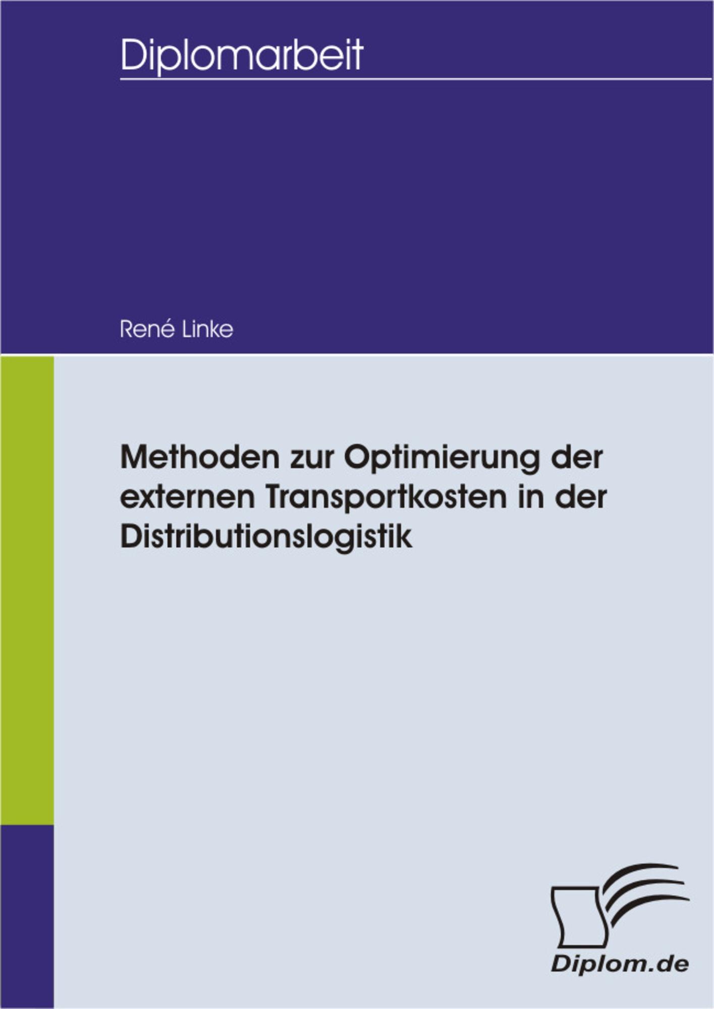 methoden zur optimierung der externen transportkosten in der