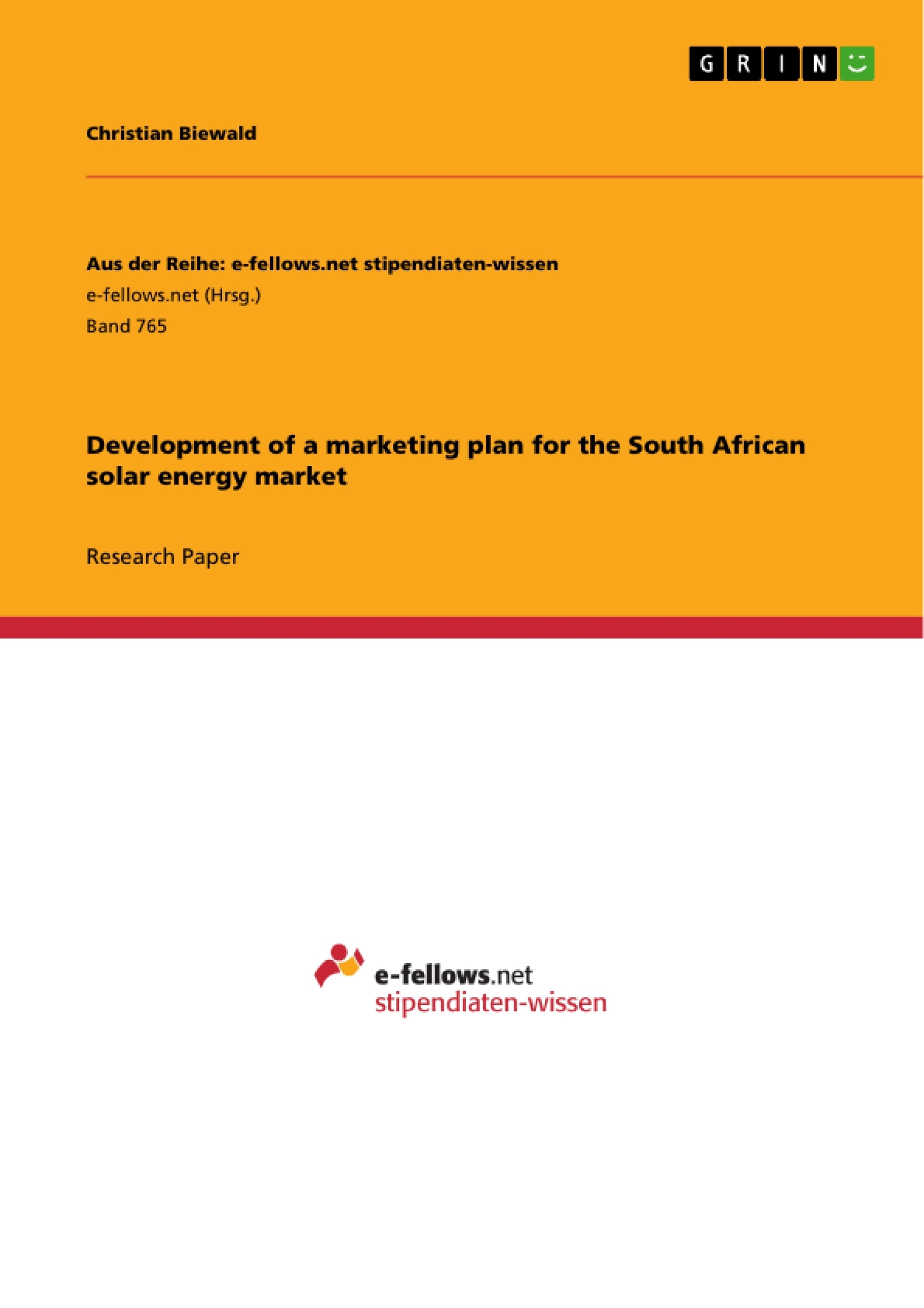 development of a marketing plan for the south african solar energy upload your own papers earn money and win an iphone 7