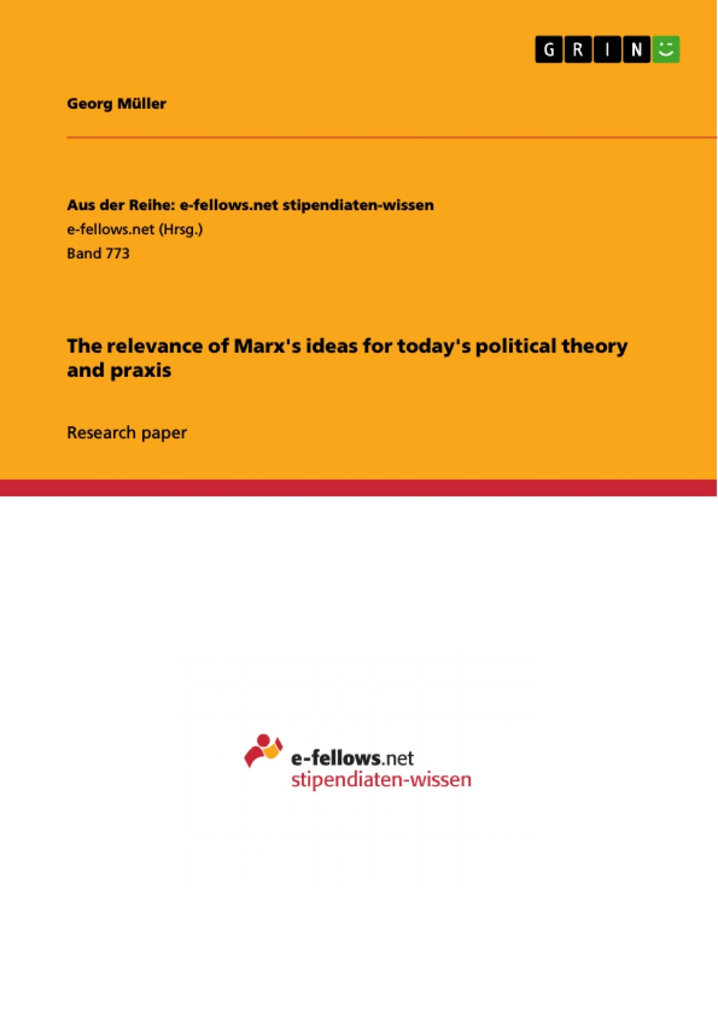 alienation thesis