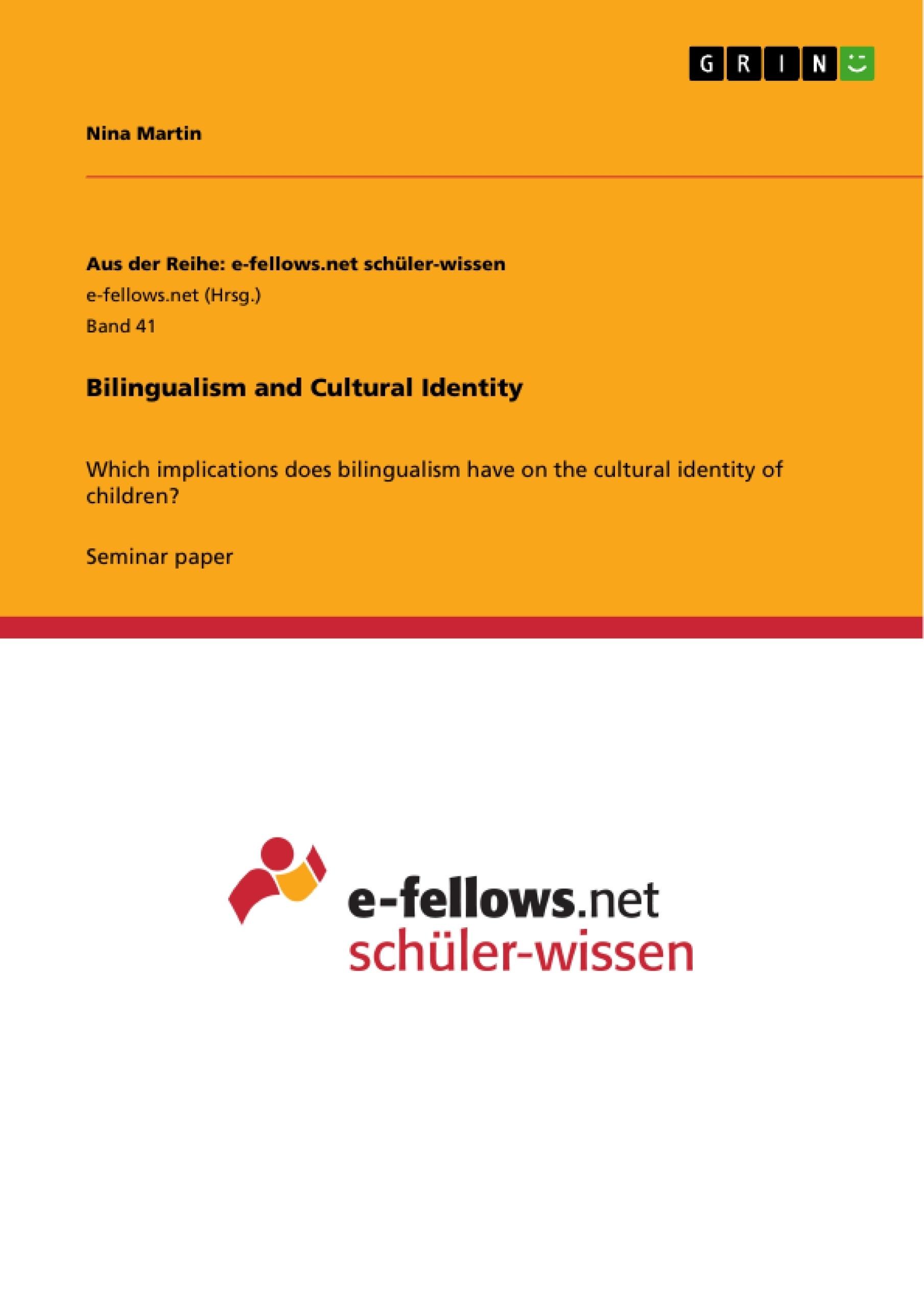 advantages bilingual education essay Bilingual education cognitive, and cultural advantages that accrue to individuals and this example history of bilingual education essay is published for.