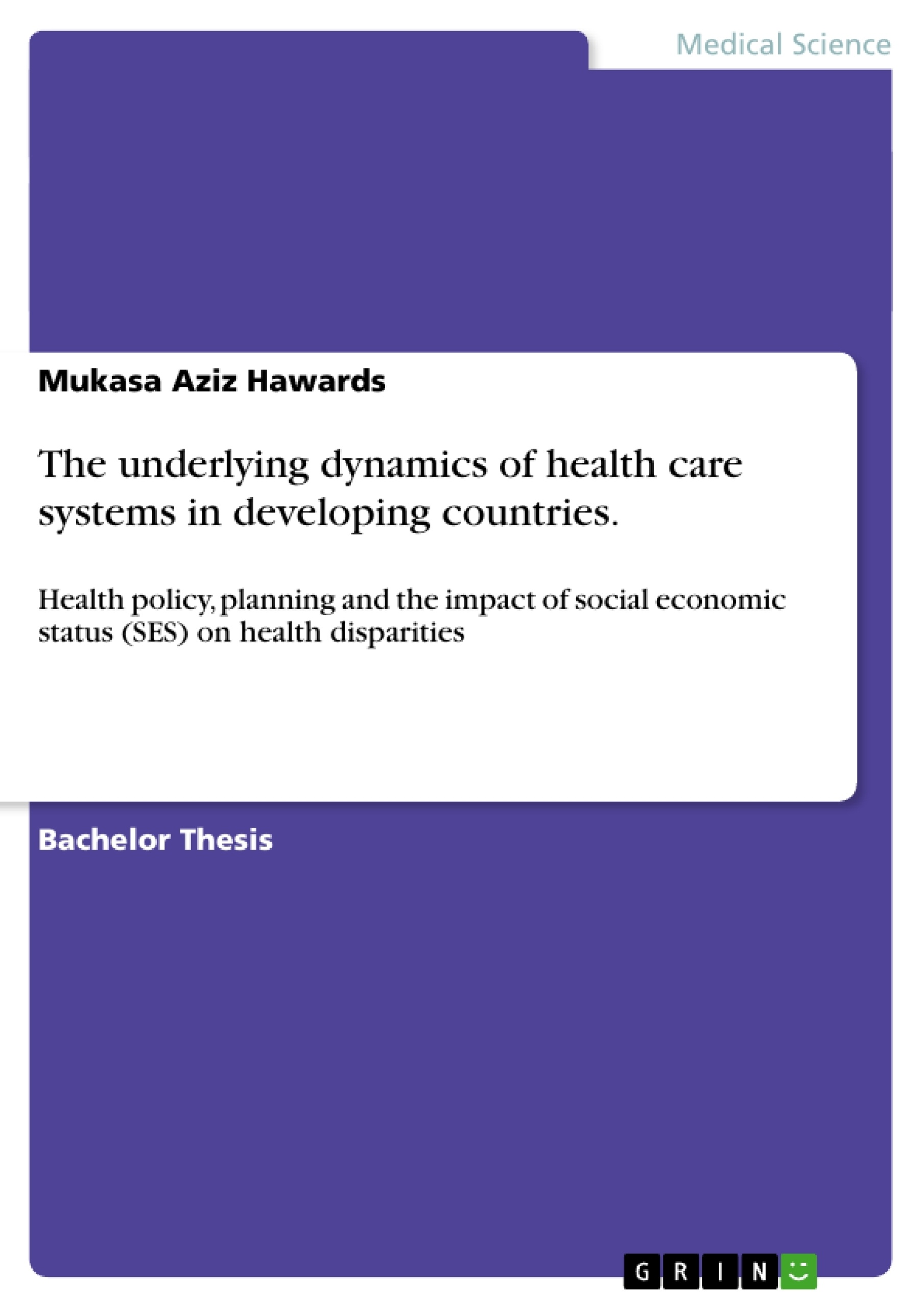Health policy in developed countries essay
