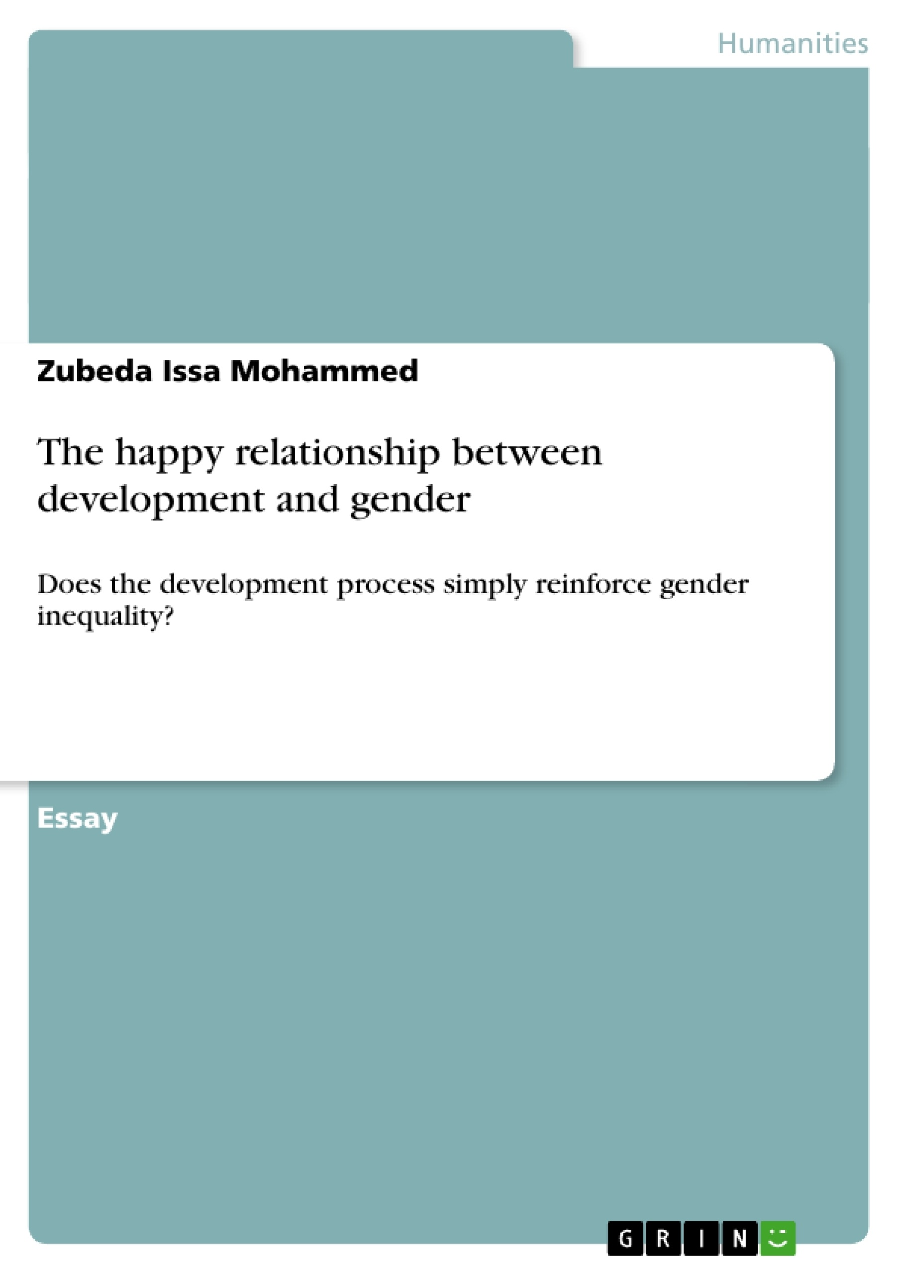 essay on gender inequality the happy relationship between  the happy relationship between development and gender publish the happy relationship between development and gender publish
