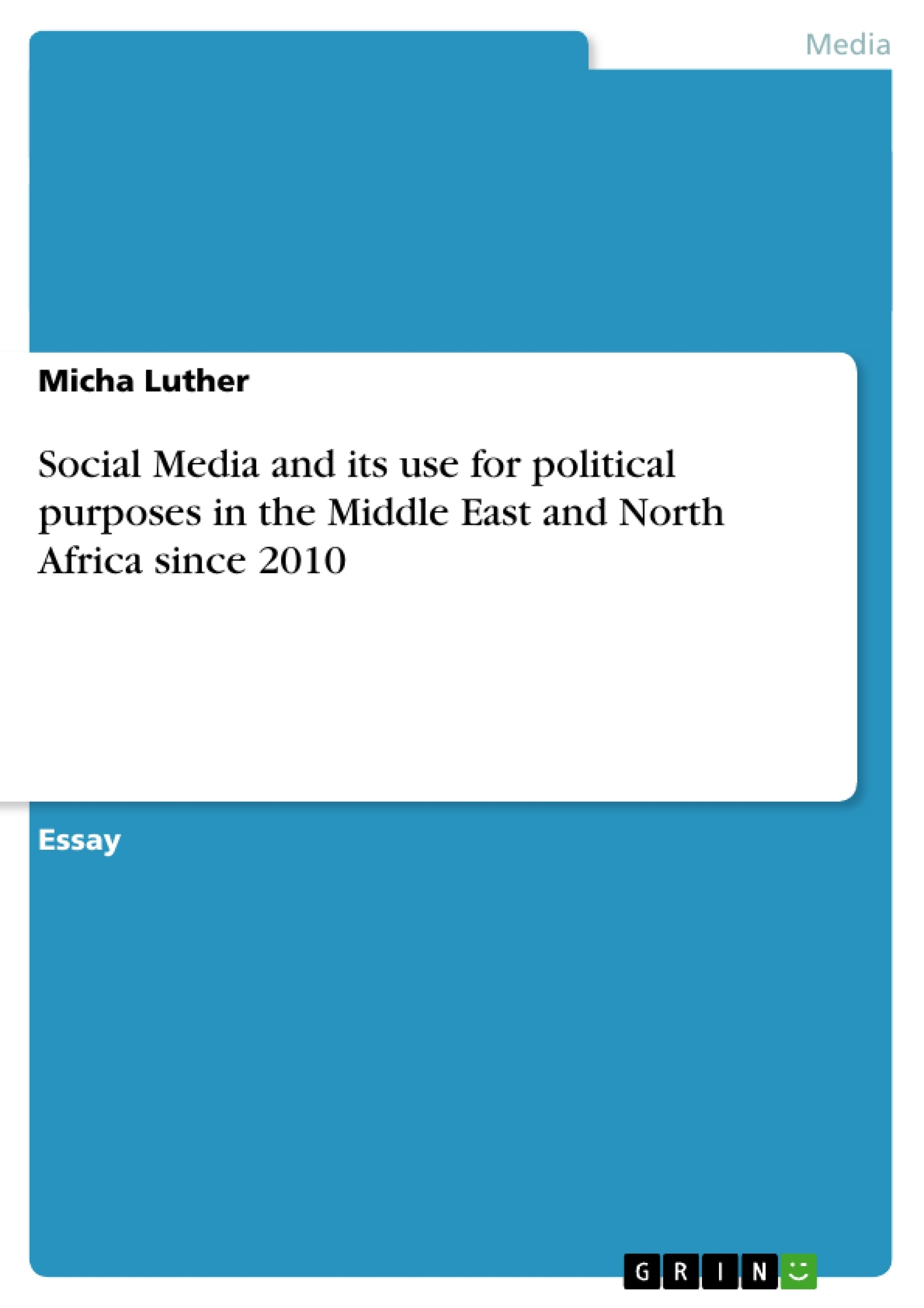 middle east term papers