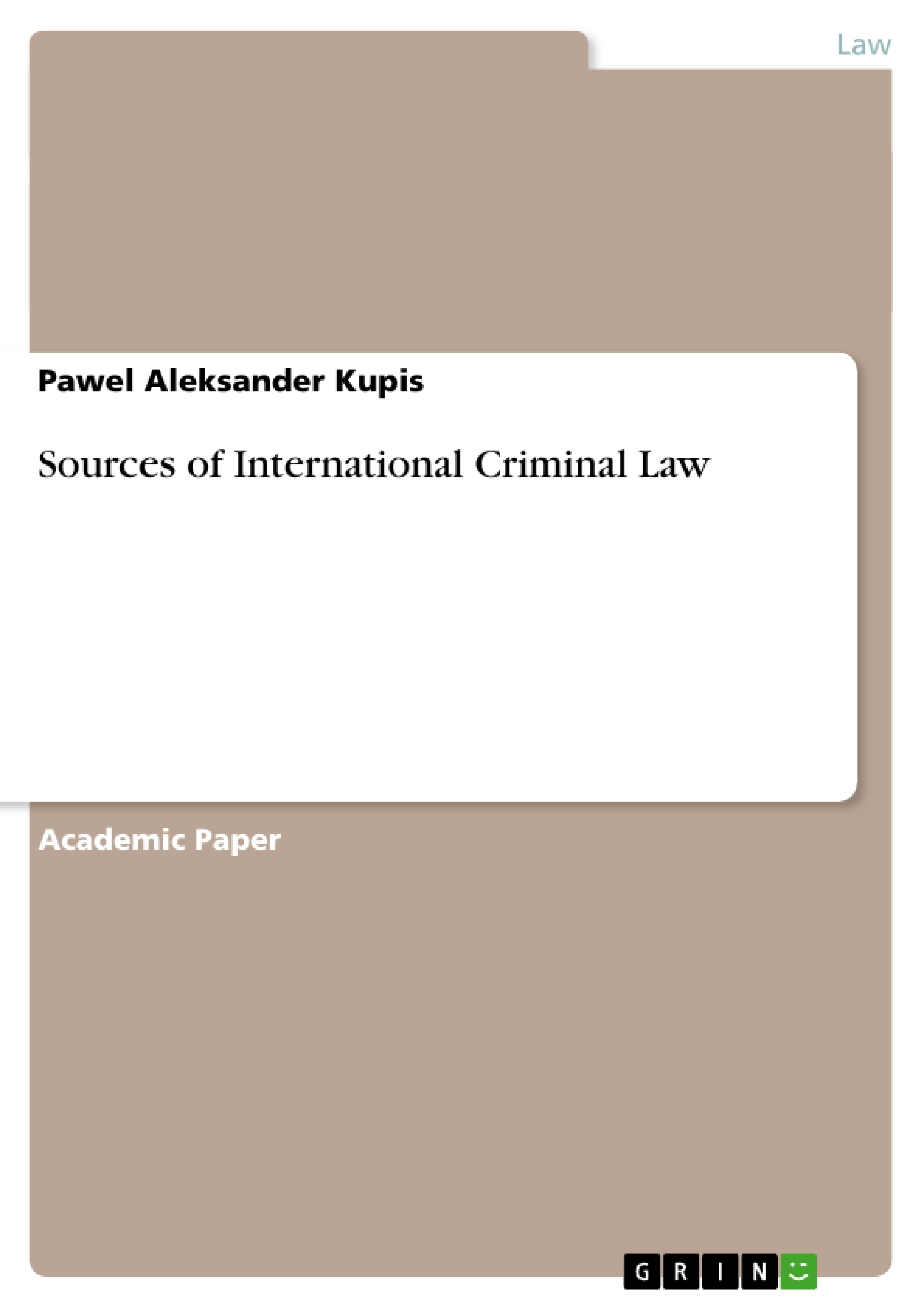 comparative criminal law paper norway Judicial independence norwegian asylum and immigration law  comparative  criminal law international human  sabo@uibno law of commercial paper.