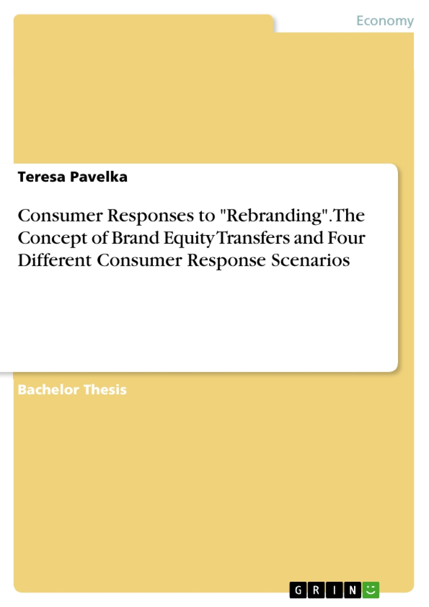 thesis brand
