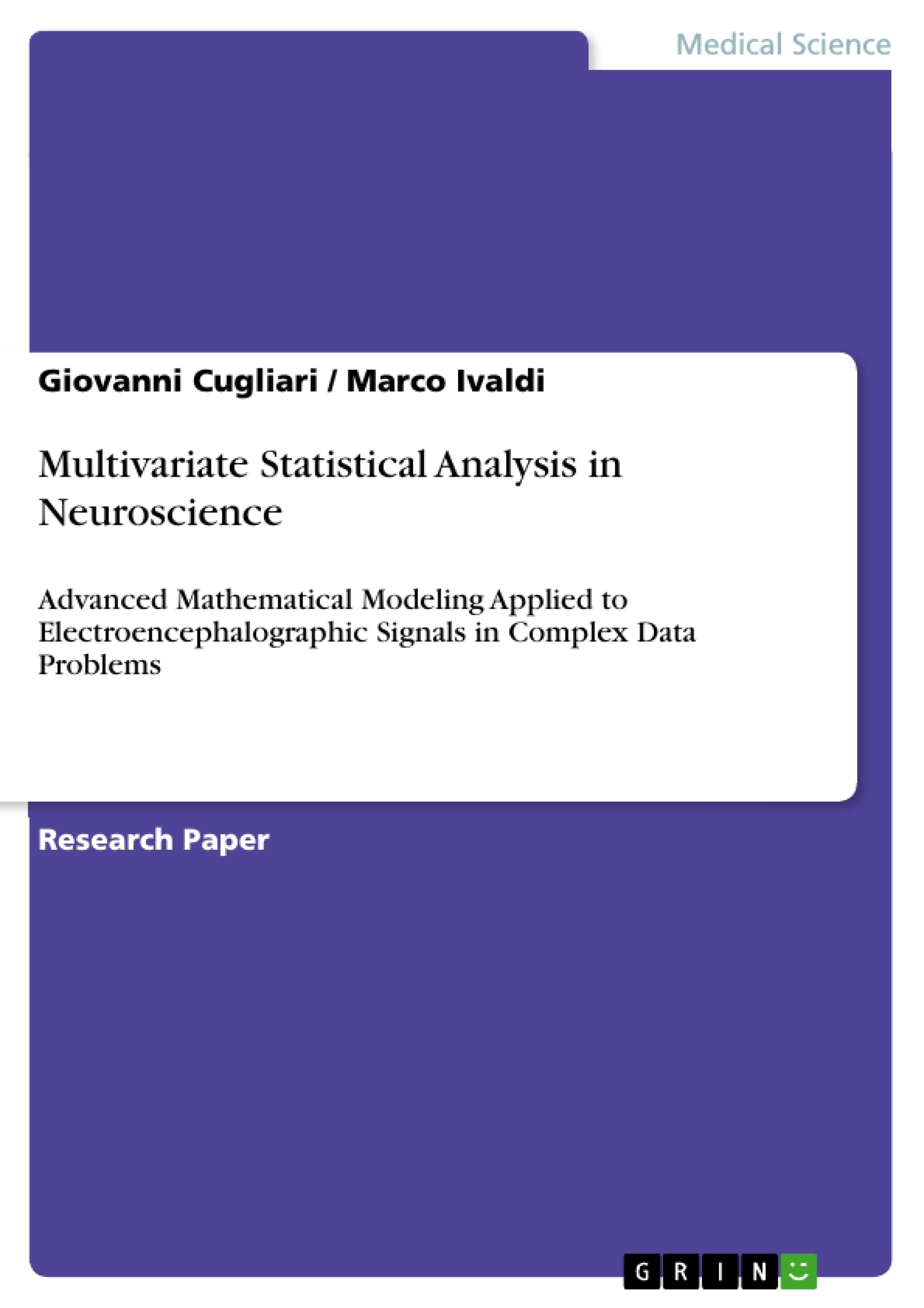 multivariate analysis thesis The manova (multivariate analysis of variance) is a type of multivariate analysis used to analyze data that involves more than one dependent variable at a time.