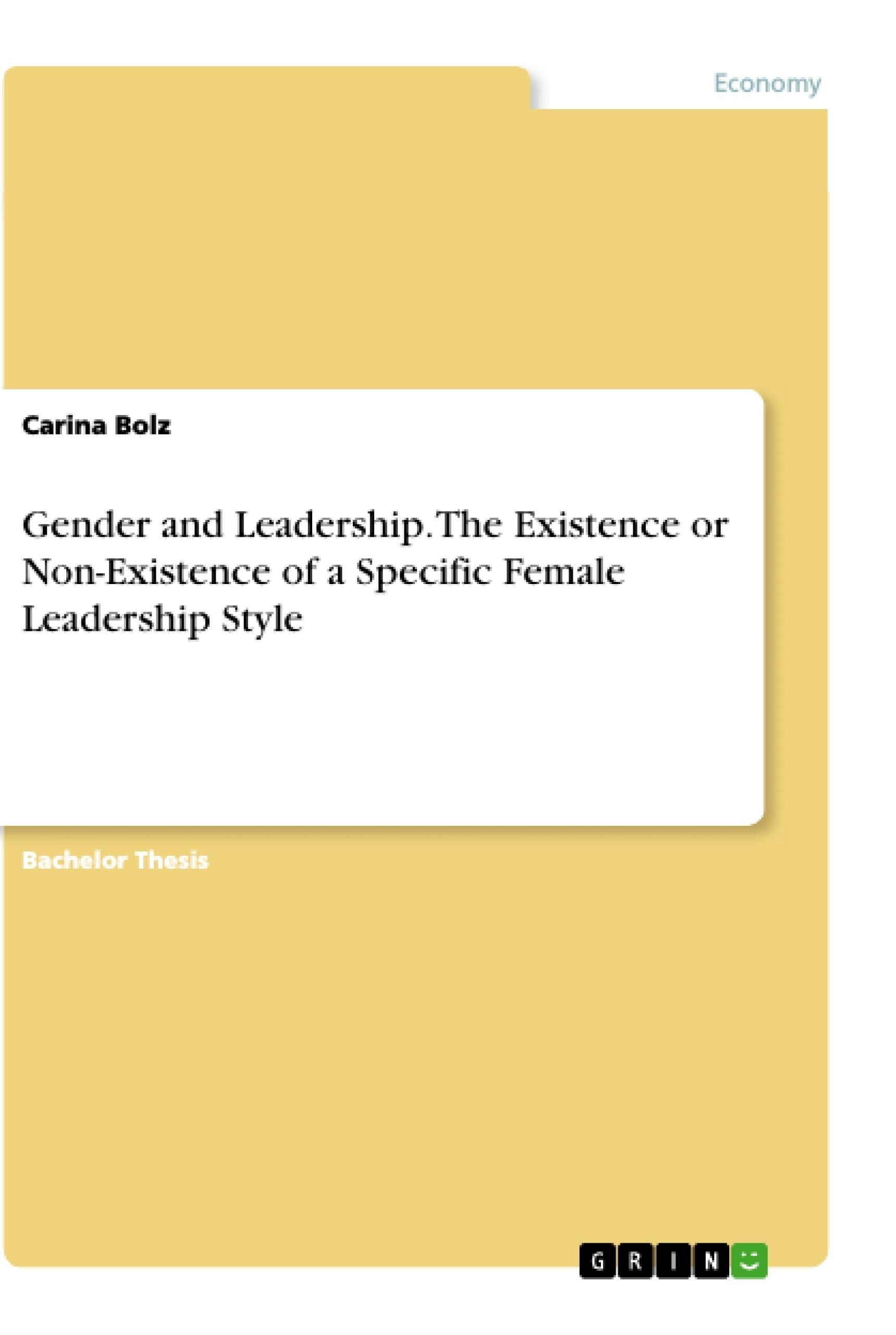gender and leadership essay