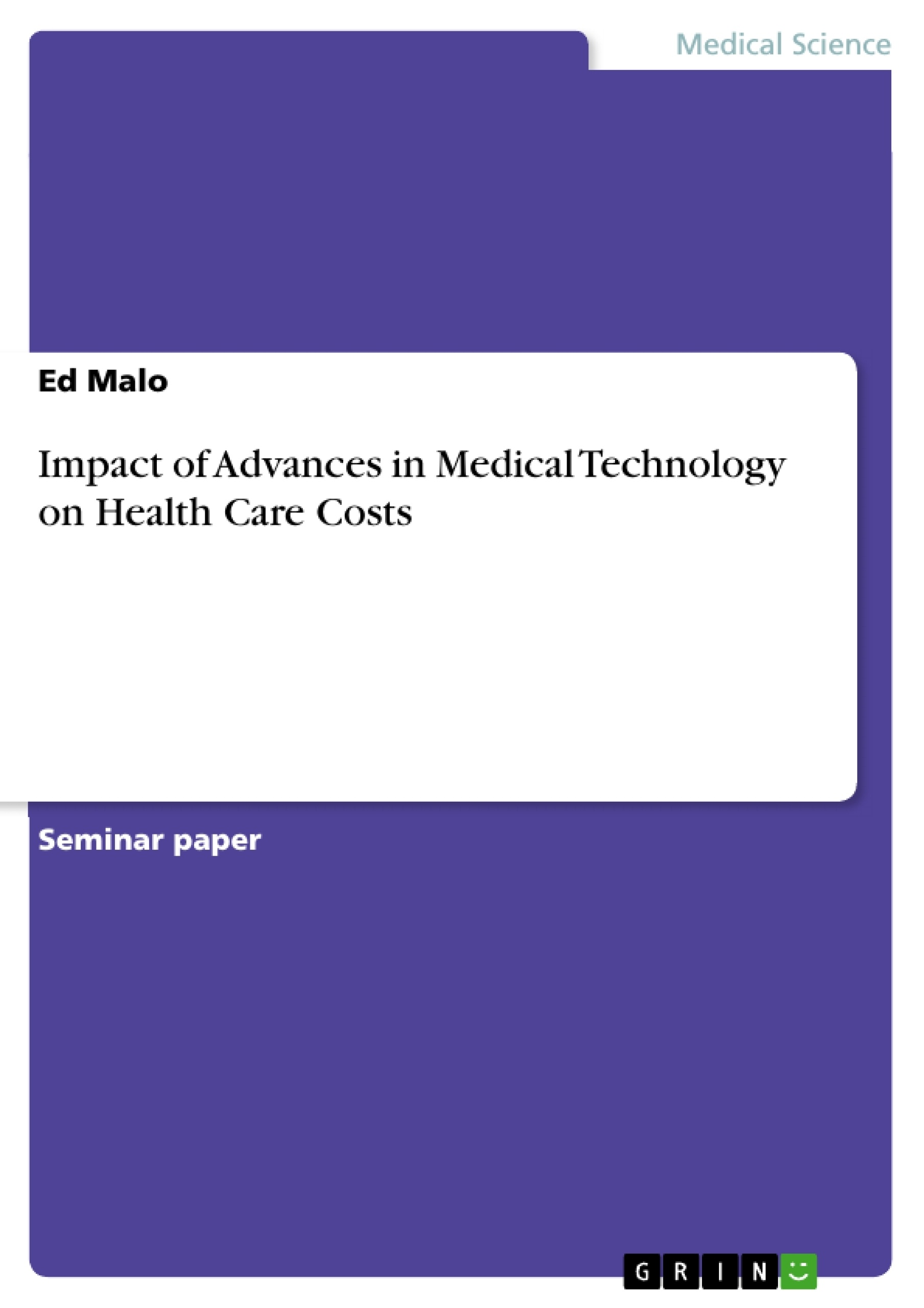 how technology shapes health care essay Free health care system papers, essays, and research papers despite these changes, adoption of information technology has been slow in health care workplaces.