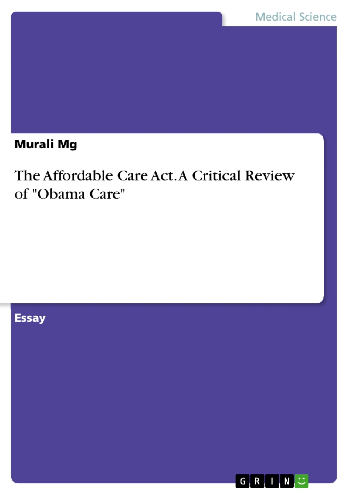 Cause and effect essay on health insurance