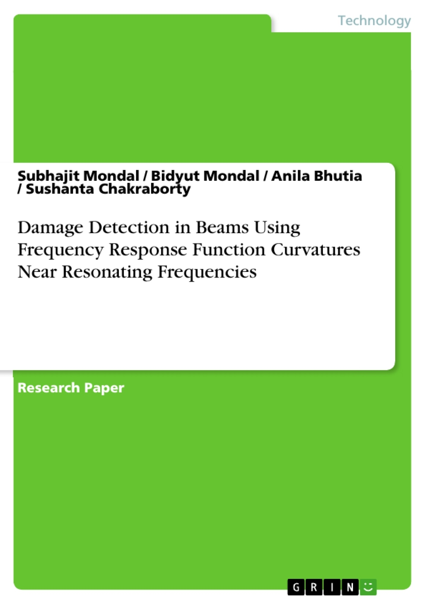damage detection thesis Application of support vector machines for damage detection in structures by siddharth sharma a thesis submitted to the faculty of worcester polytechnic institute.
