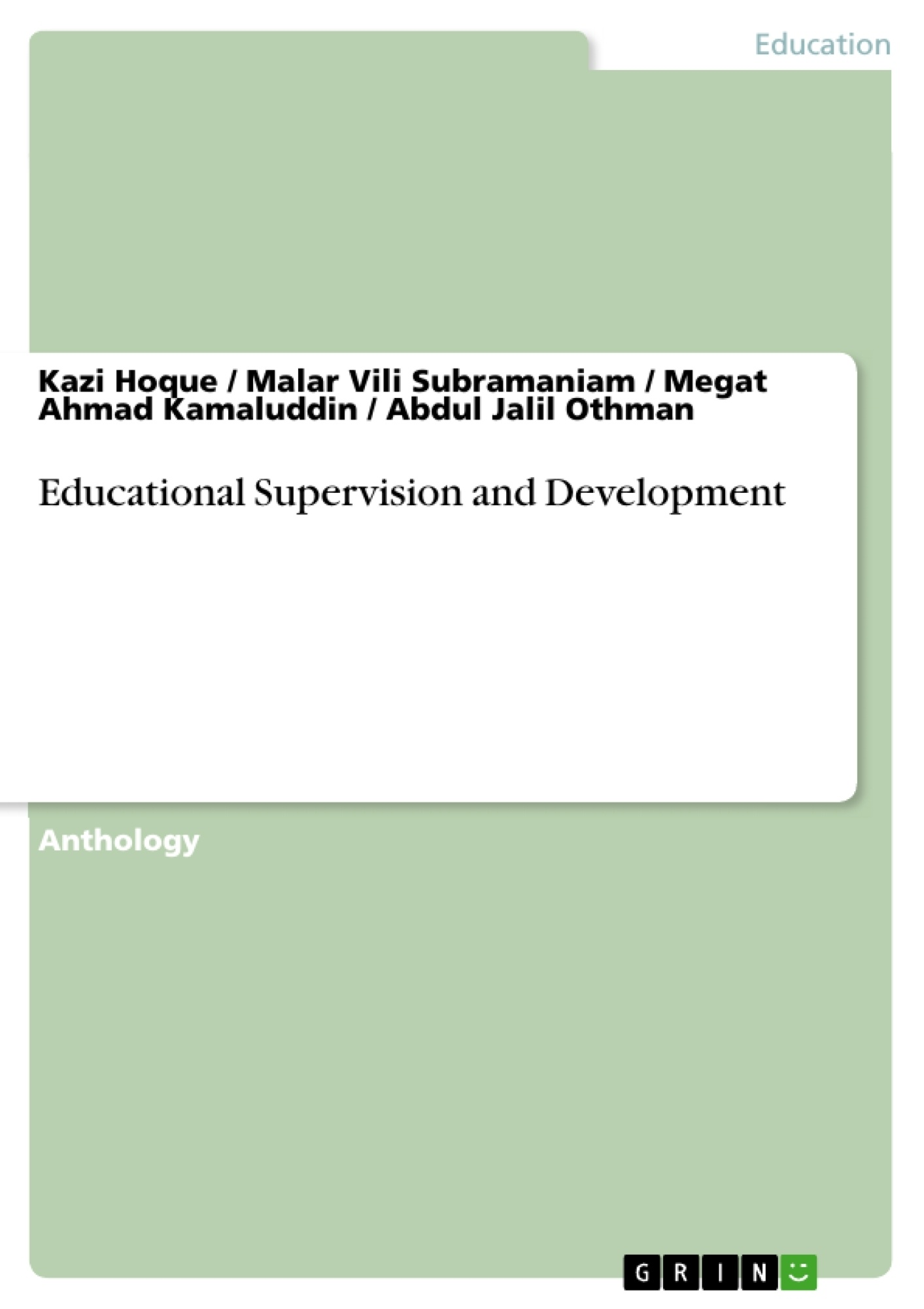 supervision for successful schools essay