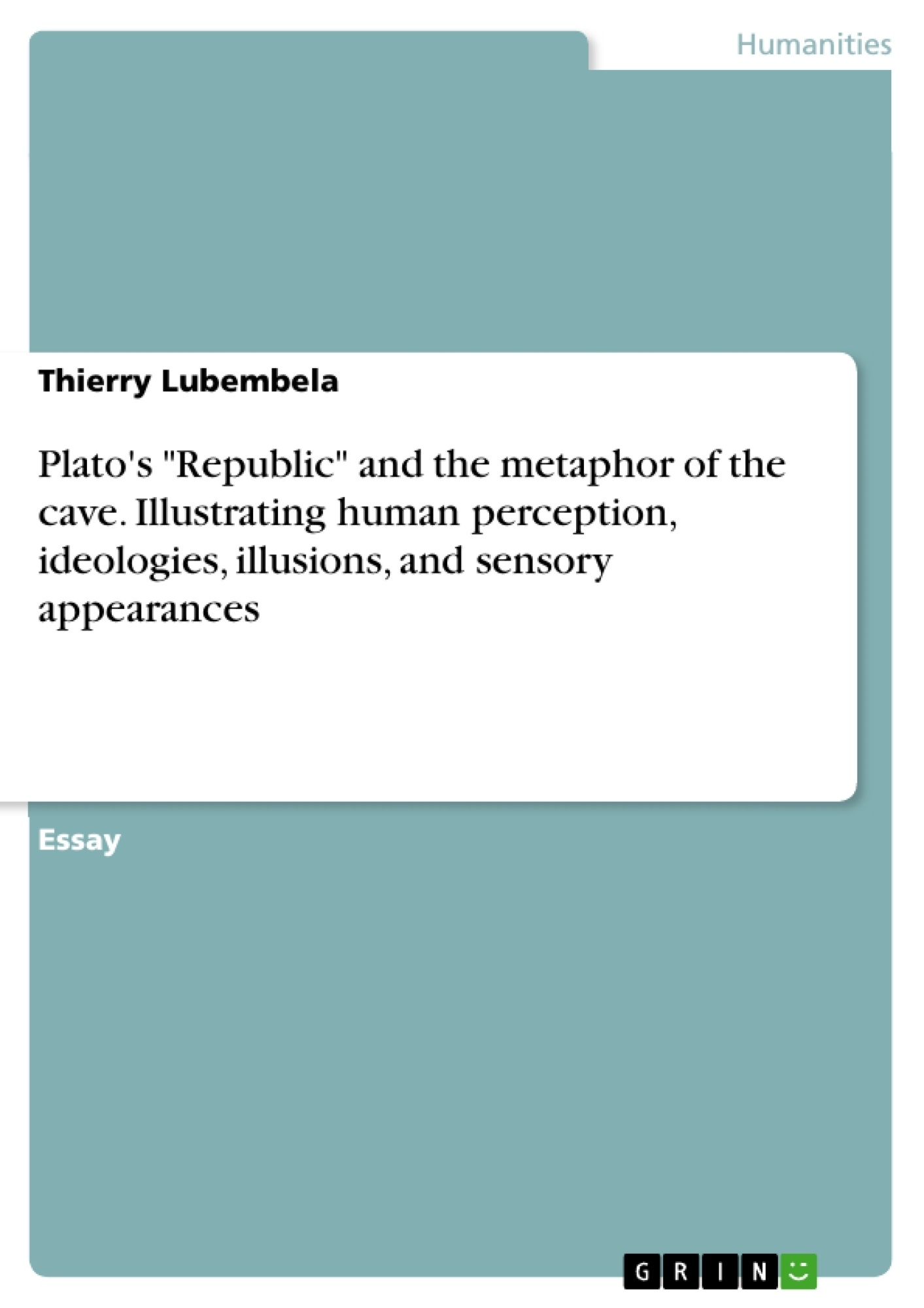 Allegory of the cave summary essays SlideShare