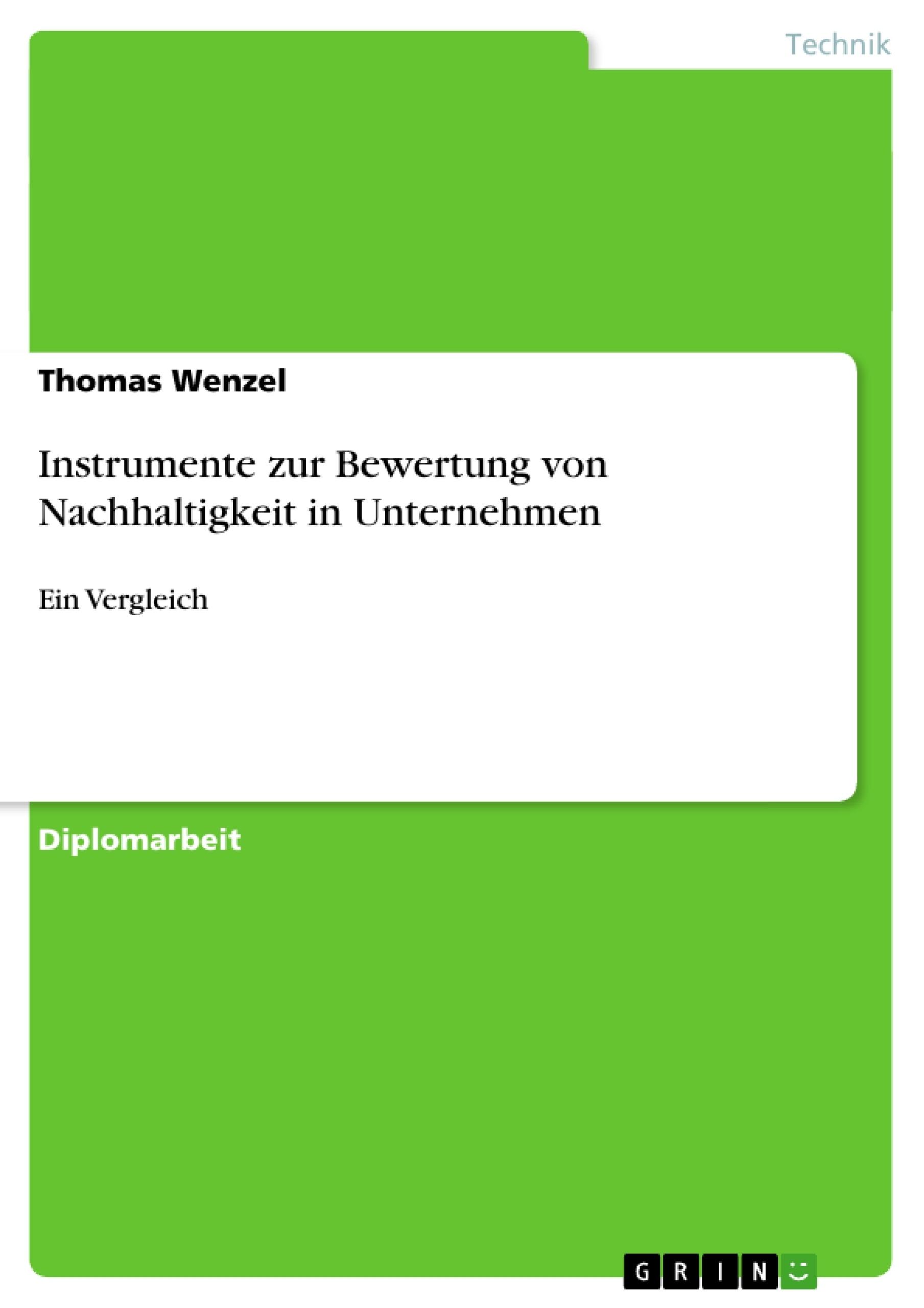 Instrumente Zur Bewertung Von Nachhaltigkeit In Unternehmen ... Nachhaltige Entwicklung Jetzigen Bedurfnisse Befriedigt
