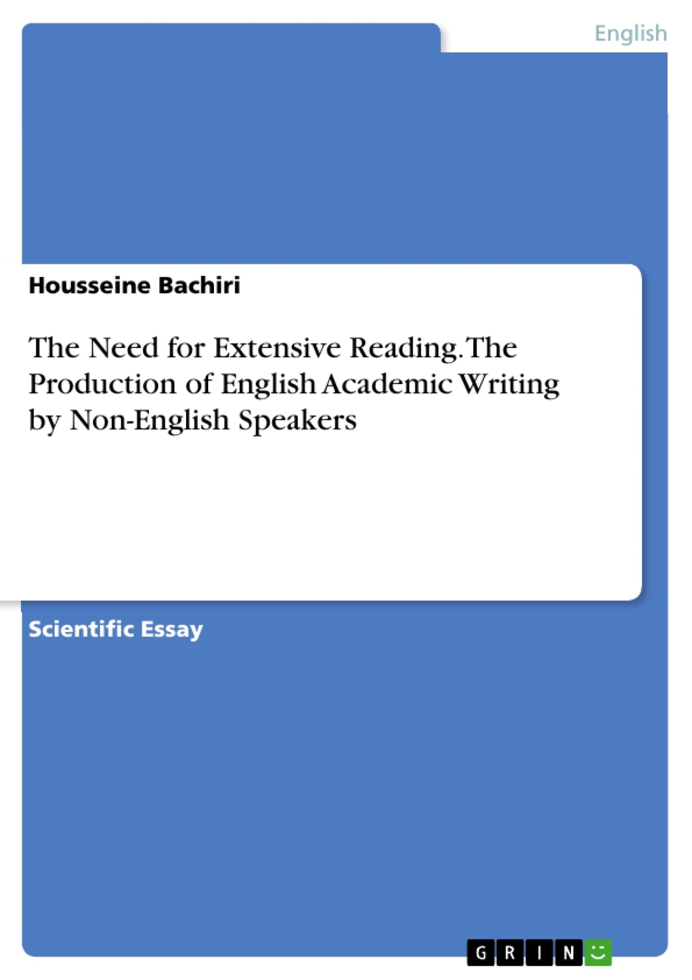 the need for extensive reading in the production of english upload your own papers earn money and win an iphone 7