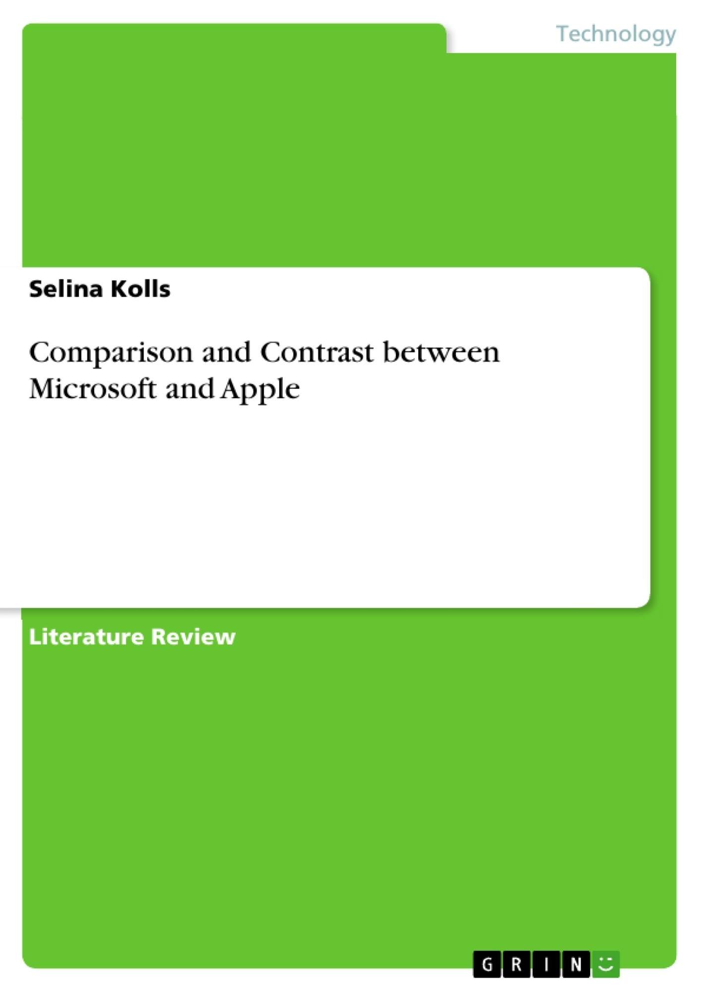 comparison and contrast between microsoft and apple publish your upload your own papers earn money and win an iphone 7