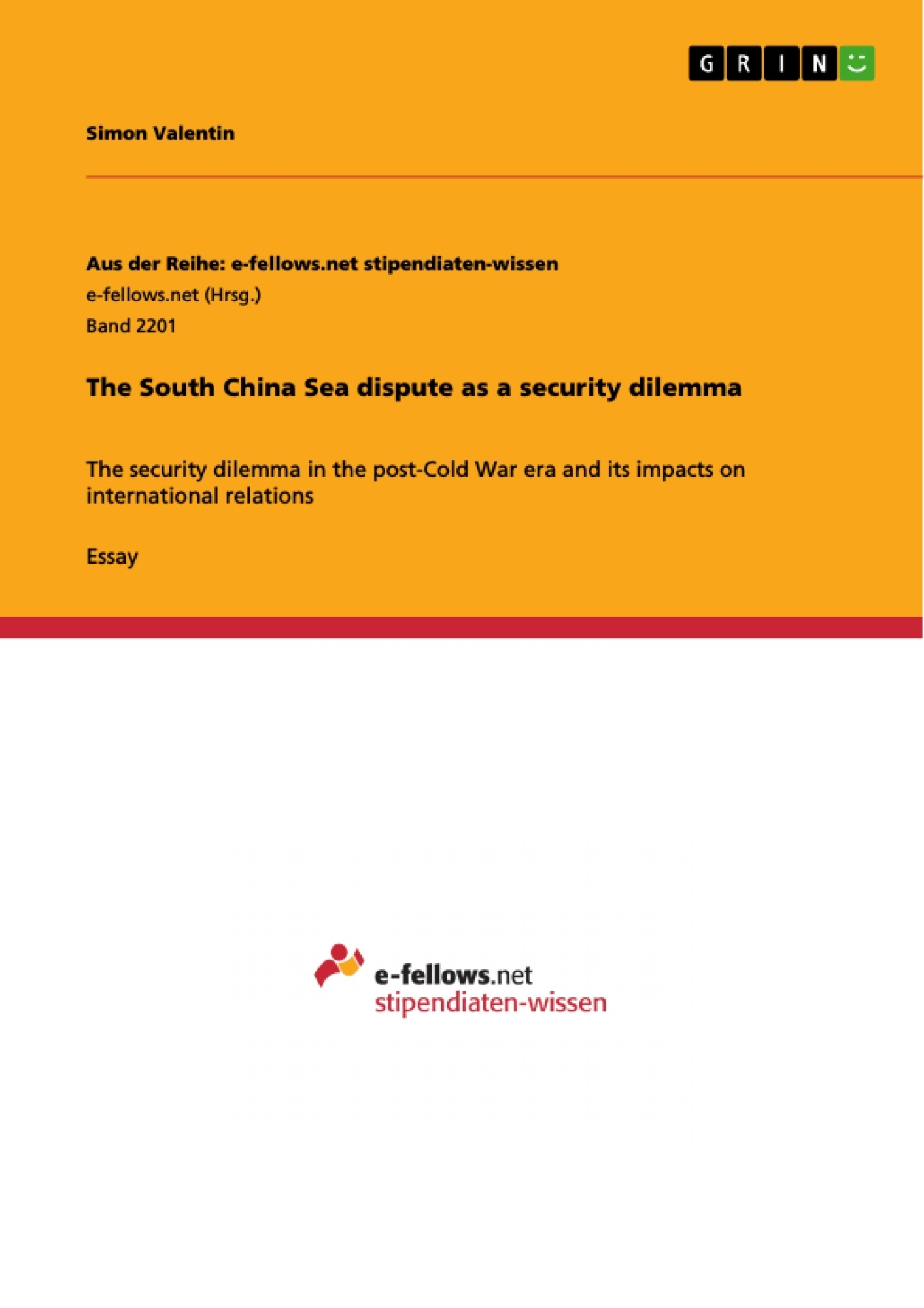 the south sea dispute as a security dilemma publish your upload your own papers earn money and win an iphone 7