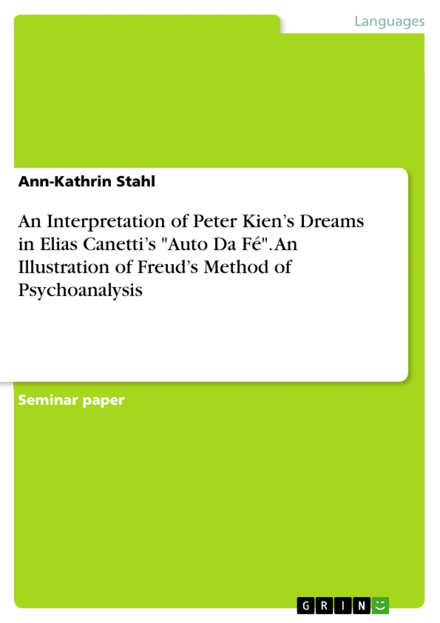 psychology term paper dreams The right way to compose an intriguing psychology research paper assignment on the subject of dreams a technique that is sure to get you the best results.