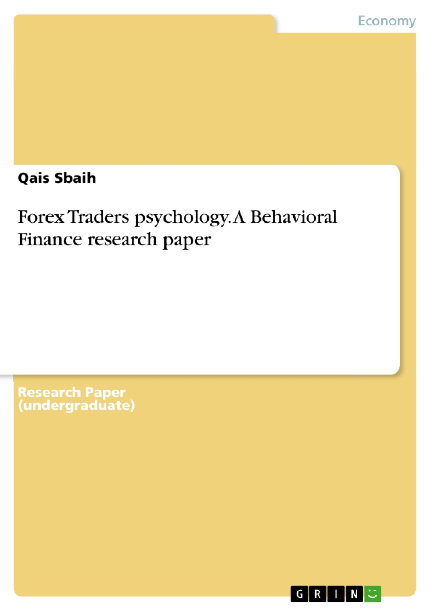 Help on research papers in finance